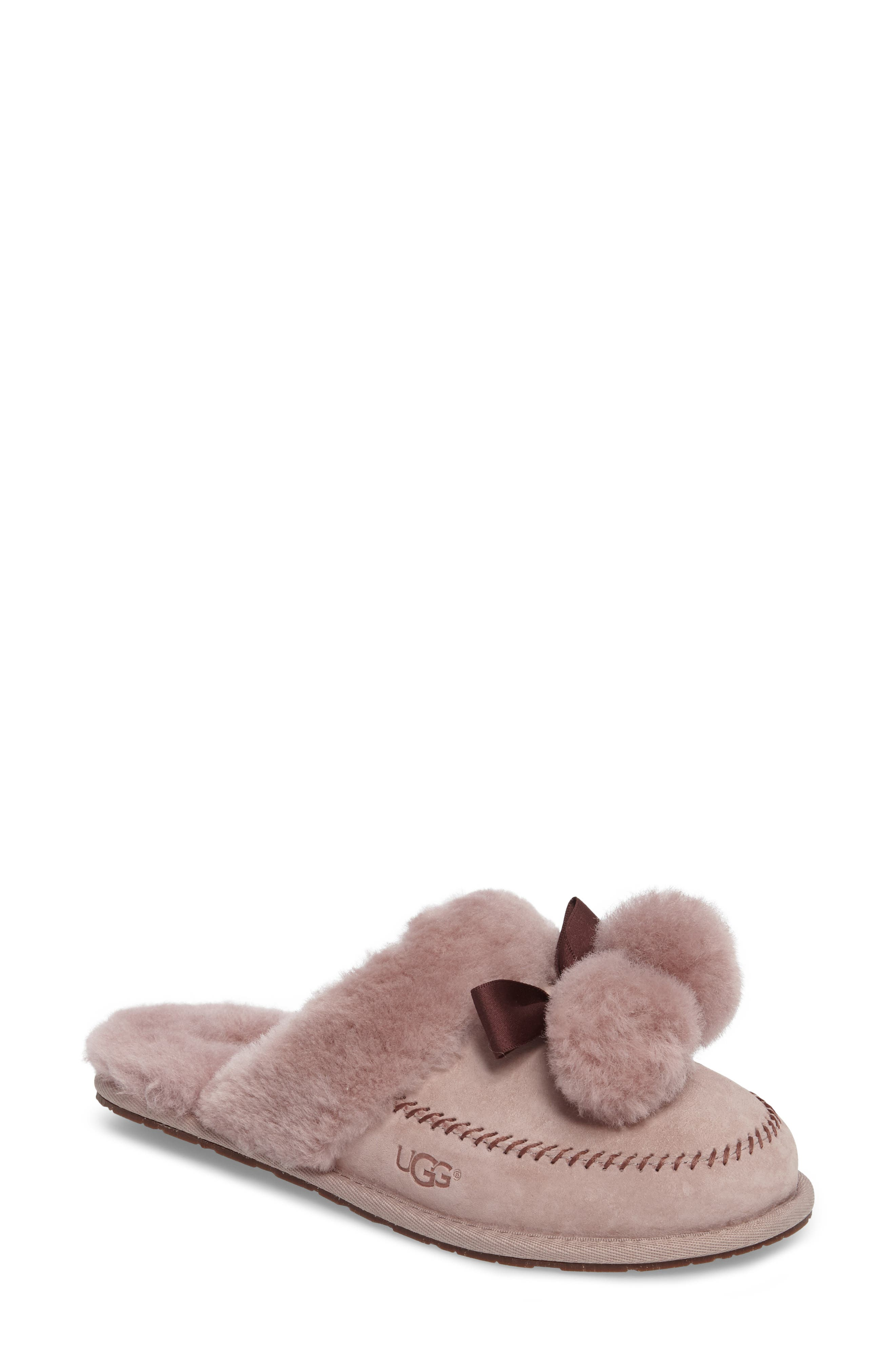 UGG® Hafnier Genuine Shearling Slipper (Women)