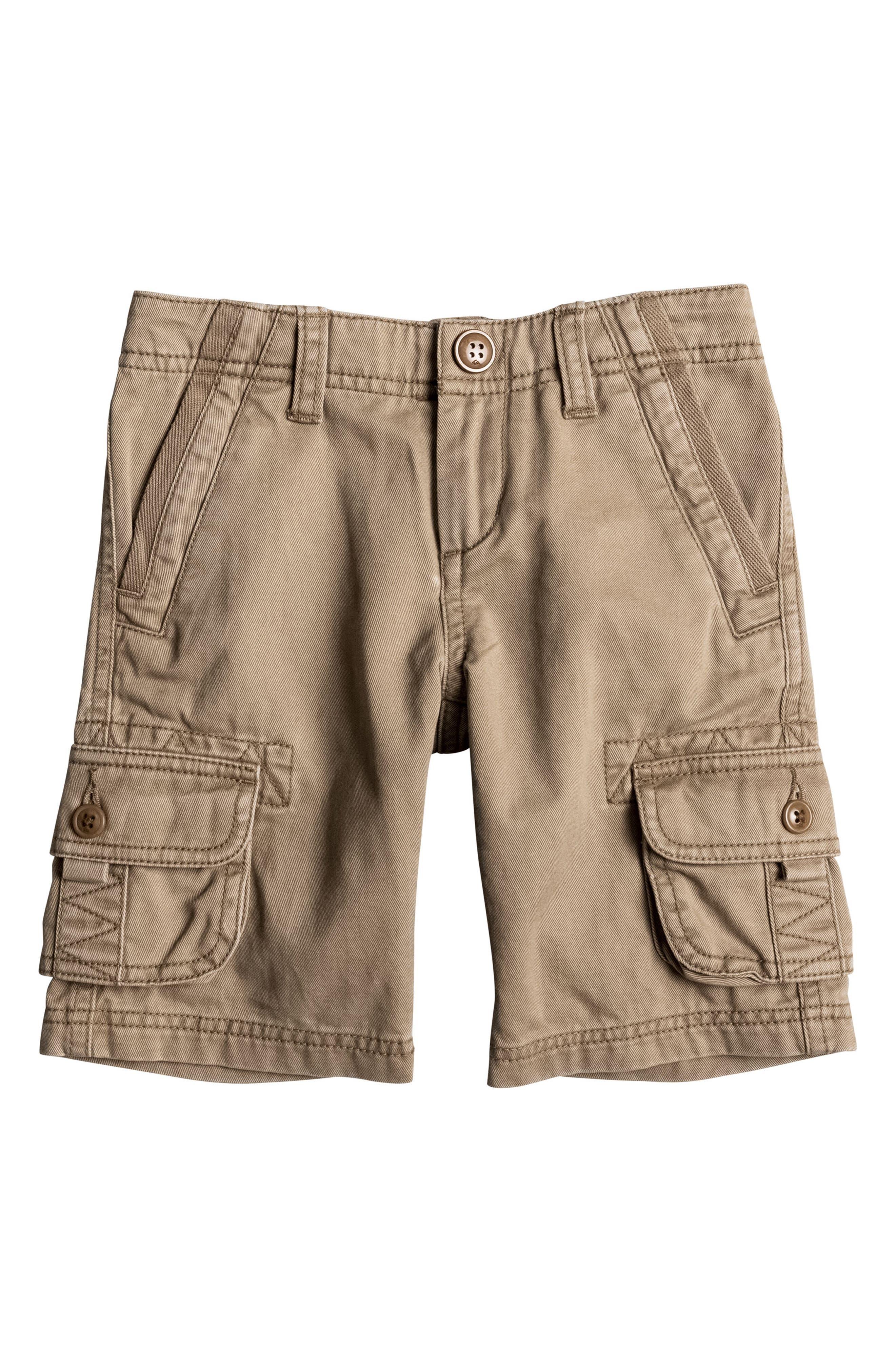 Main Image - Quiksilver Everyday Deluxe Cargo Shorts (Toddler Boys & Little Boys)