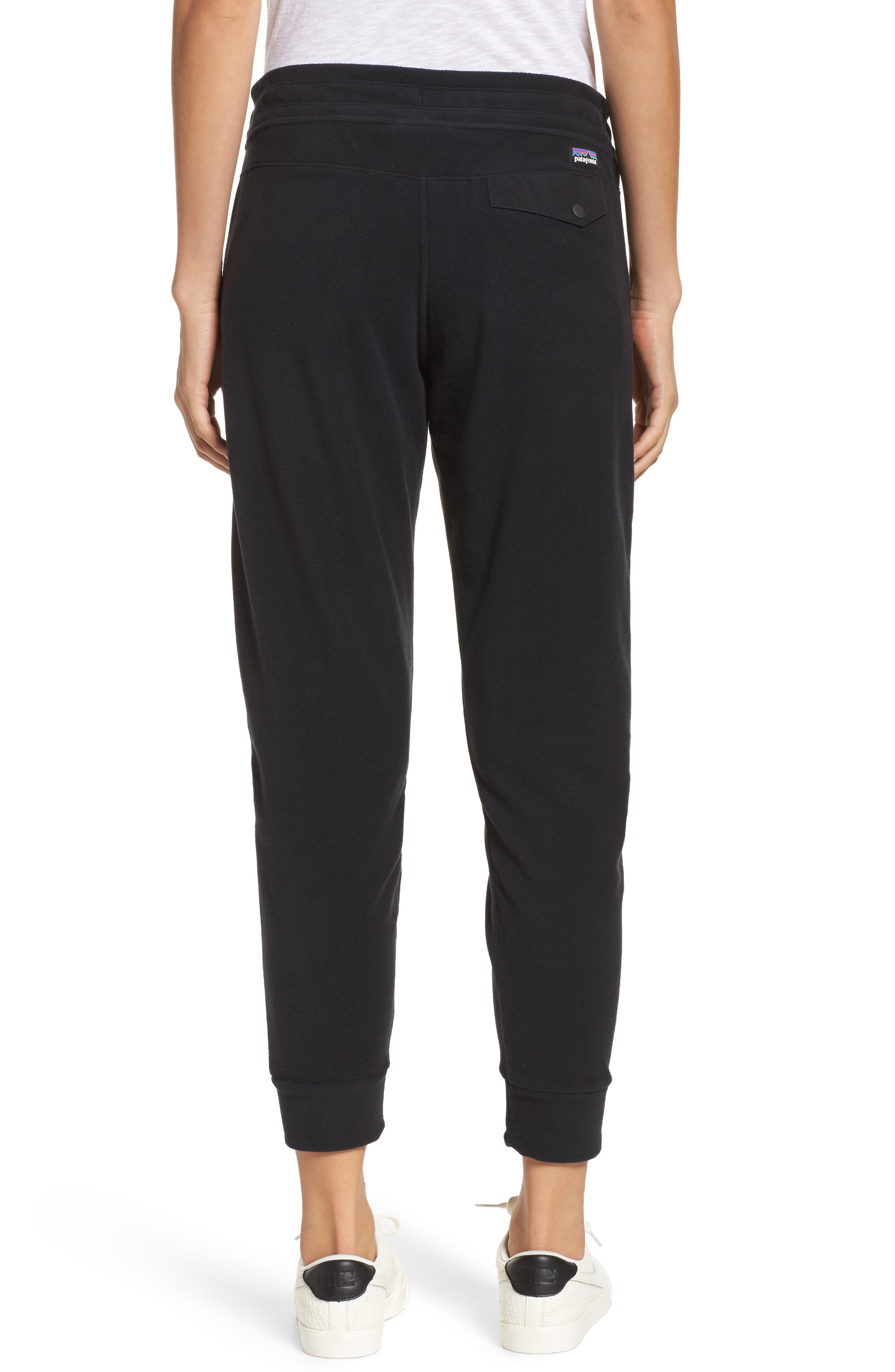 Snap-T Fleece Pants,                             Alternate thumbnail 2, color,                             Black