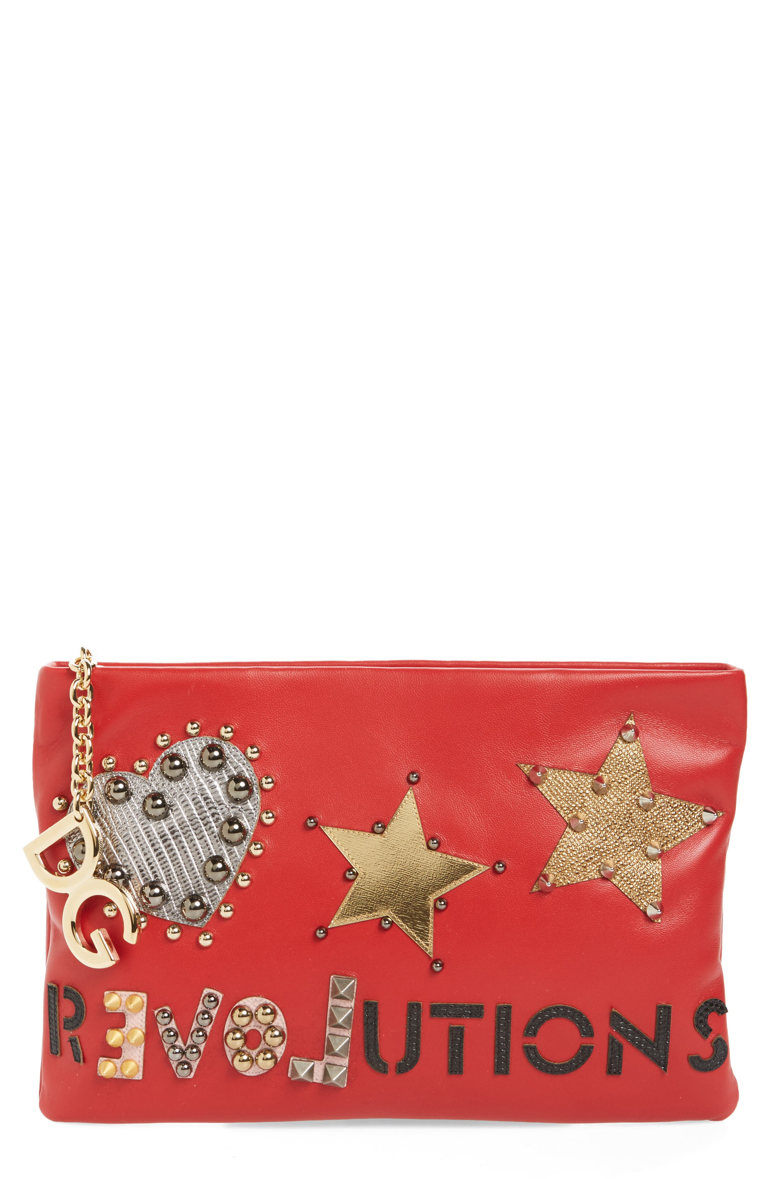 Alternate Image 1 Selected - Dolce&Gabbana Medium Cleo Revolution Clutch