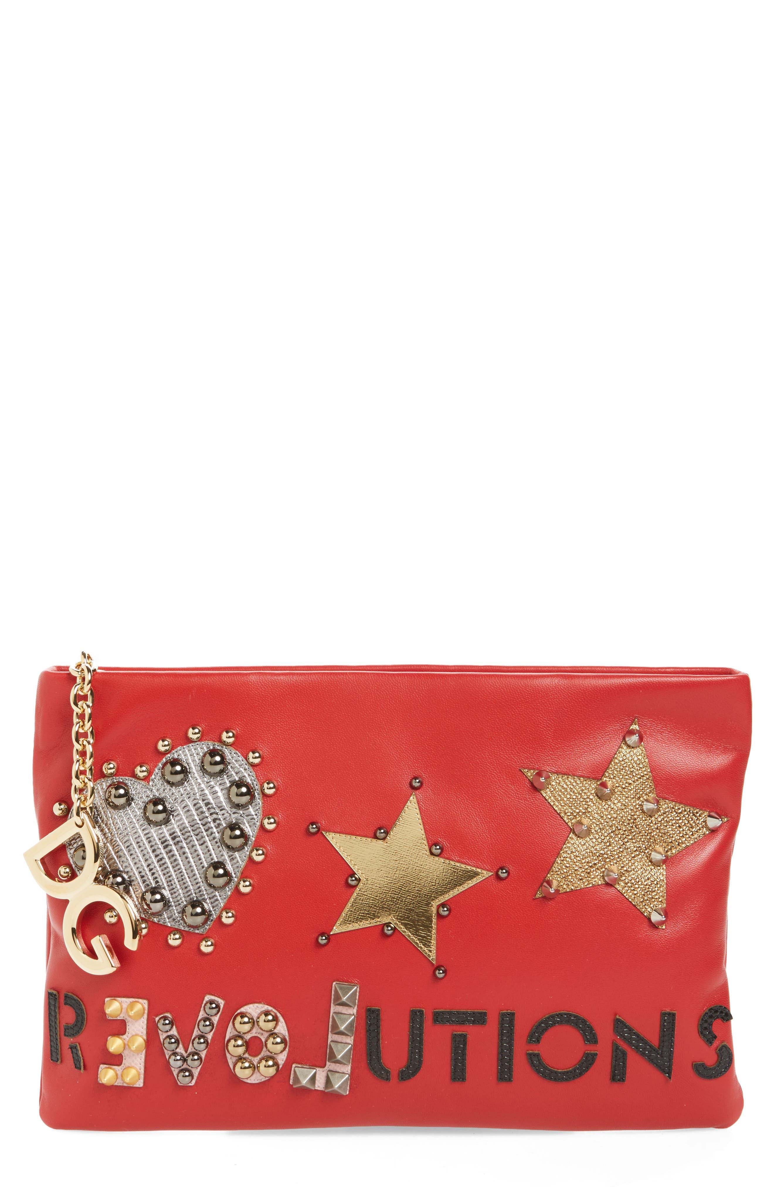 Main Image - Dolce&Gabbana Medium Cleo Revolution Clutch