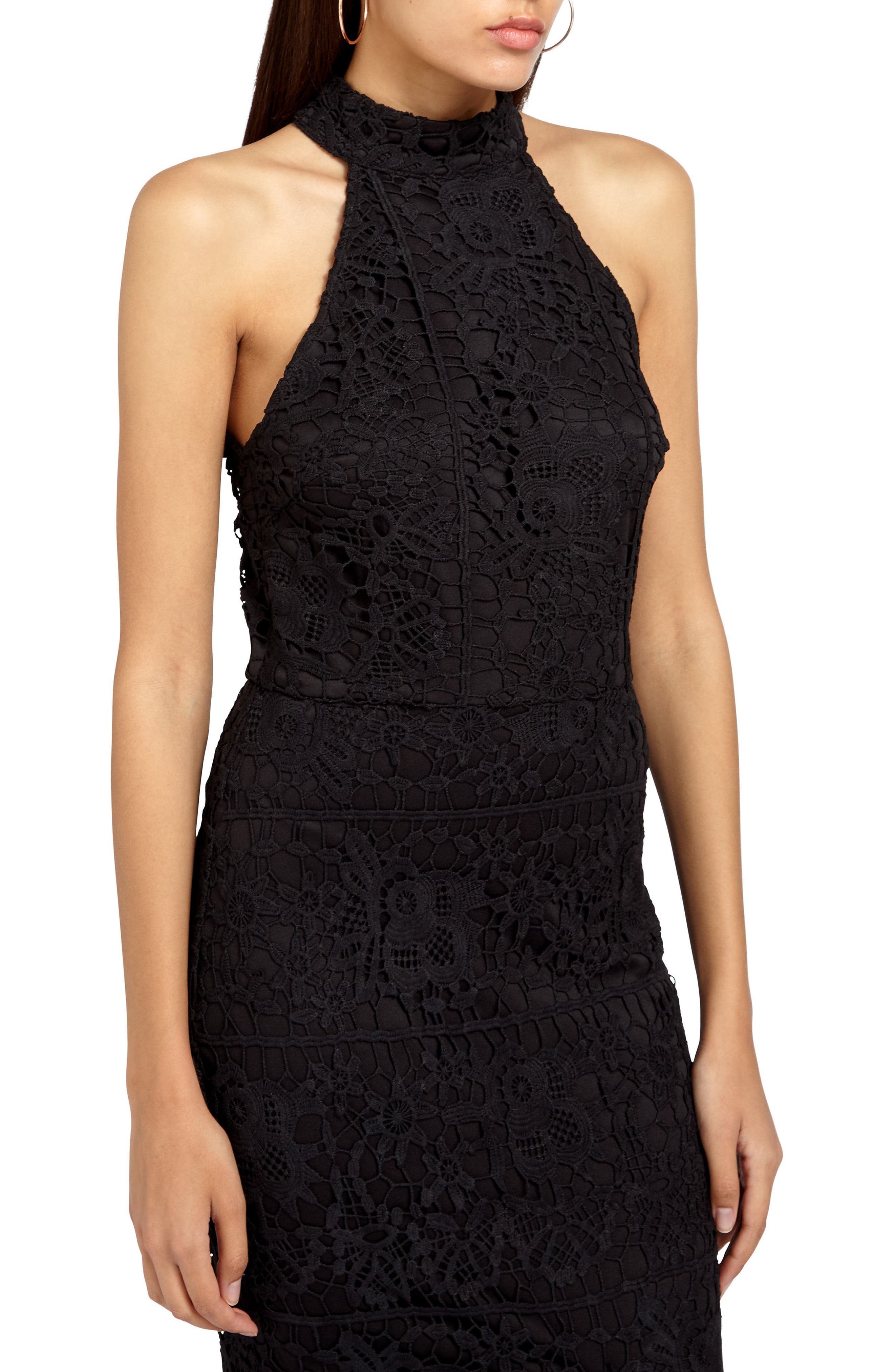 Alternate Image 4  - Missguided Lace Fishtail Body-Con Dress