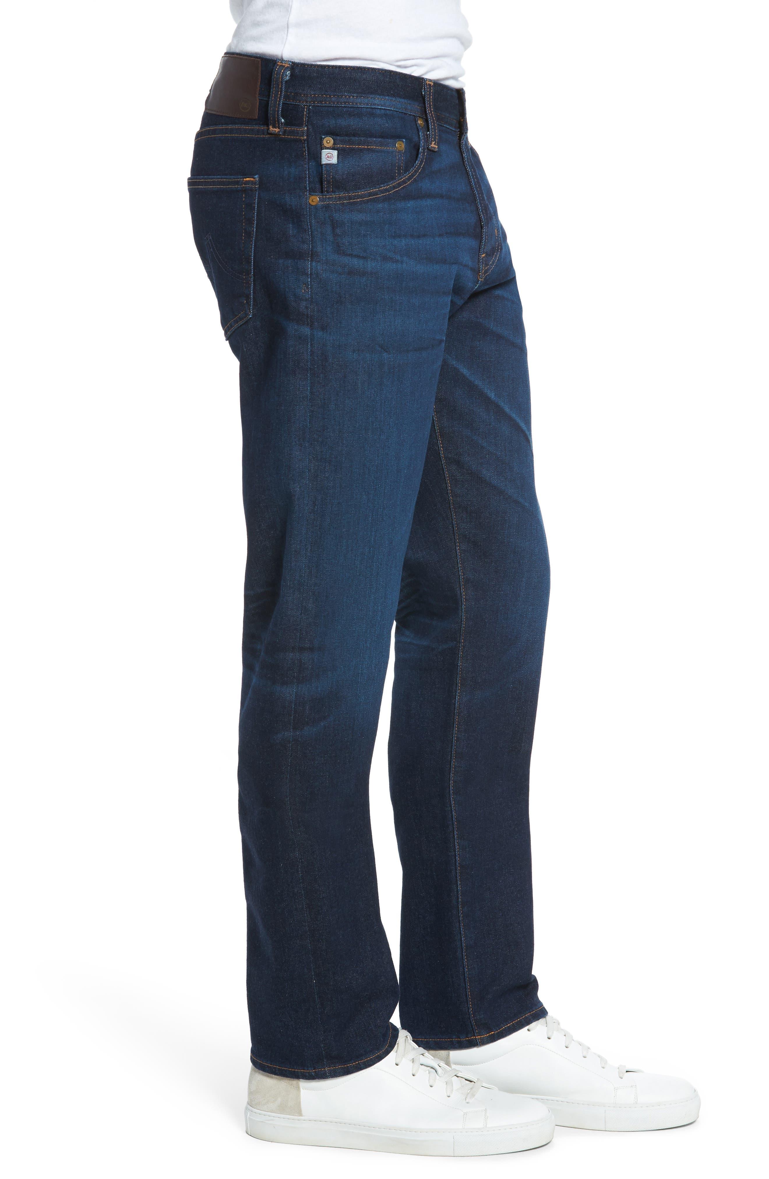 Alternate Image 3  - AG Graduate Slim Straight Fit Jeans (5 Years Porter)