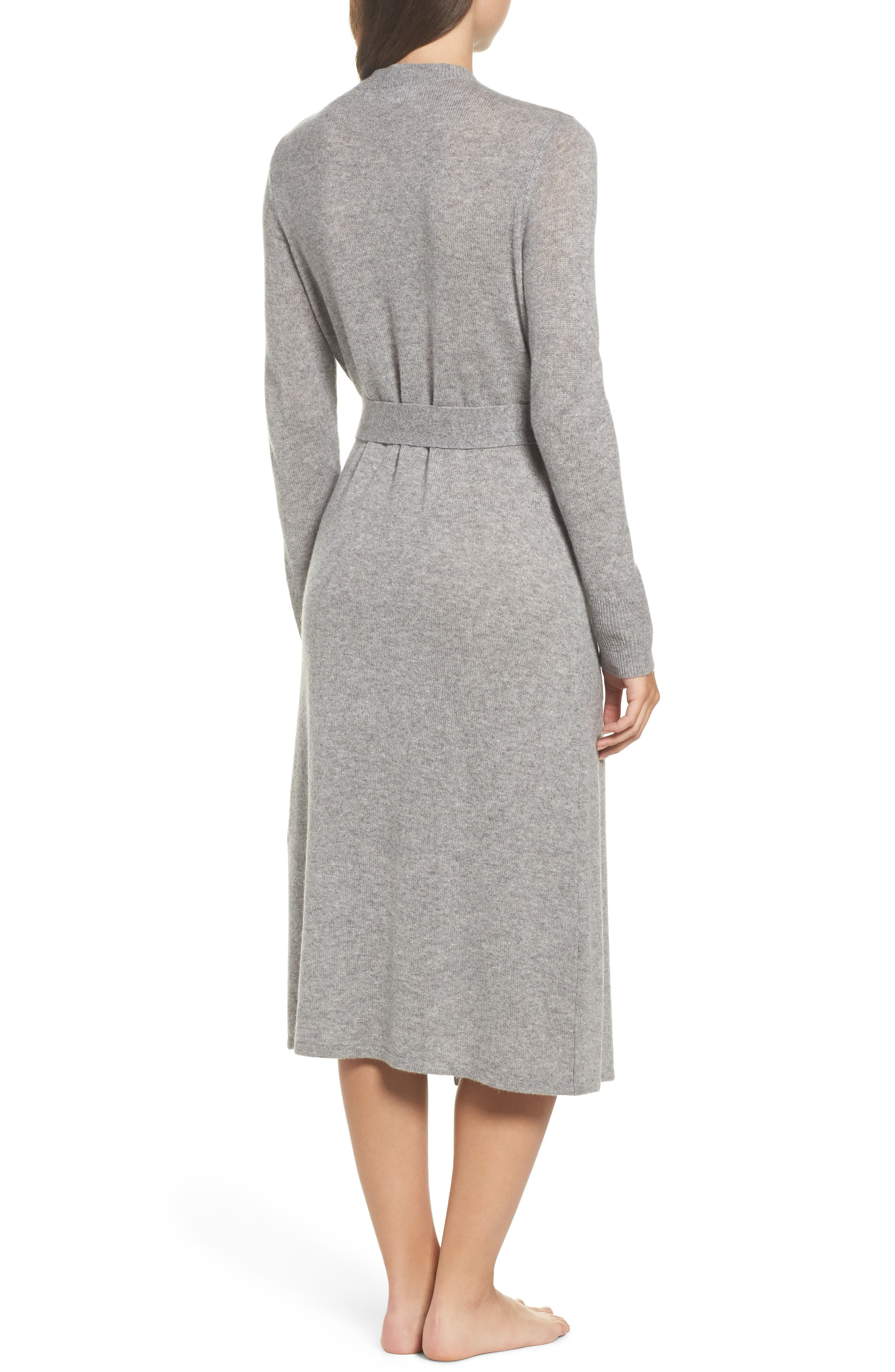 Alternate Image 2  - Nordstrom Lingerie Cashmere Robe
