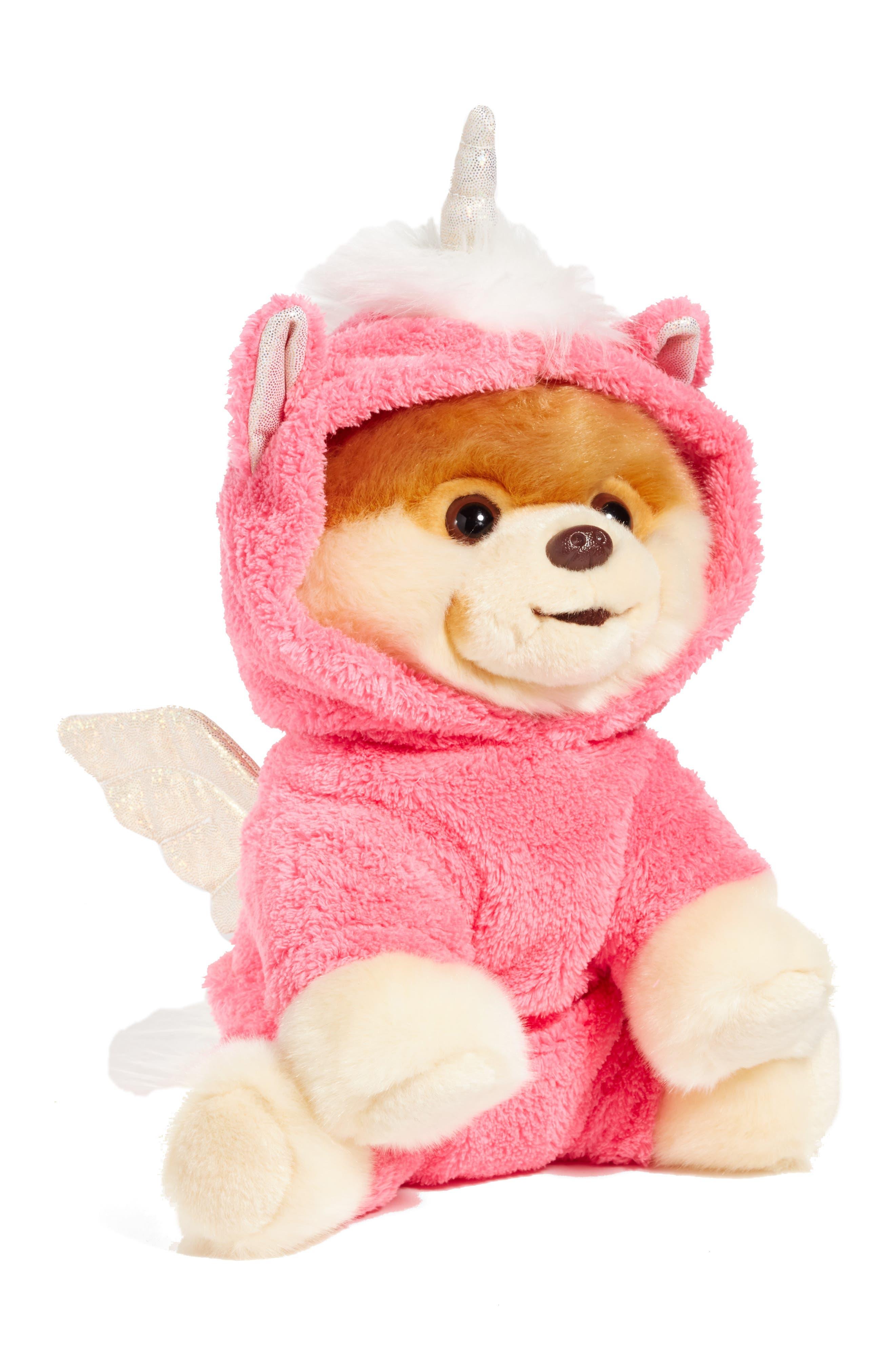 Pegasus Boo Stuffed Animal,                         Main,                         color, Pink