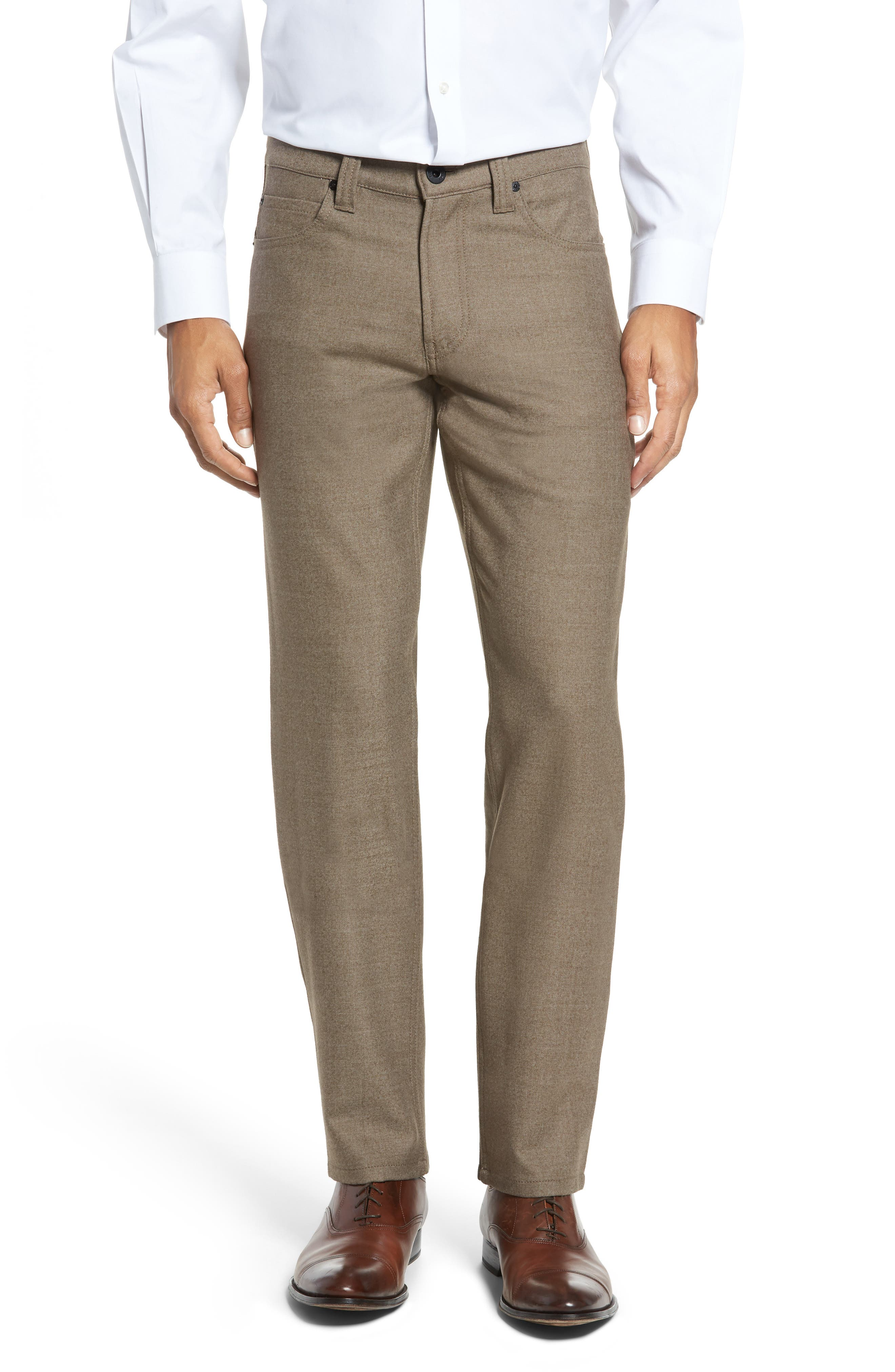 Bugatchi Wool Blend Pants (Regular & Big)