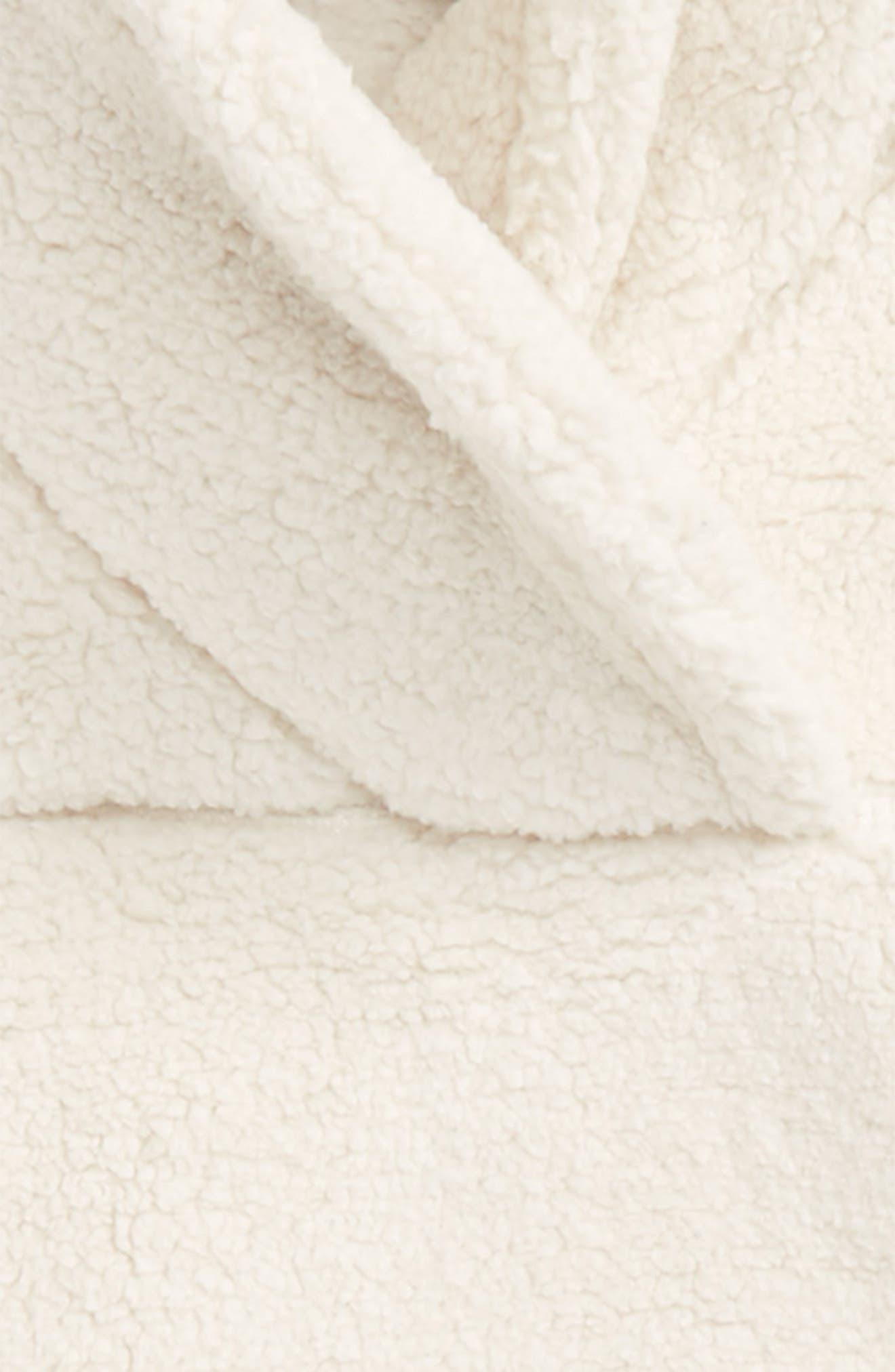 Khampfire Fleece Pullover,                             Alternate thumbnail 2, color,                             Vintage White