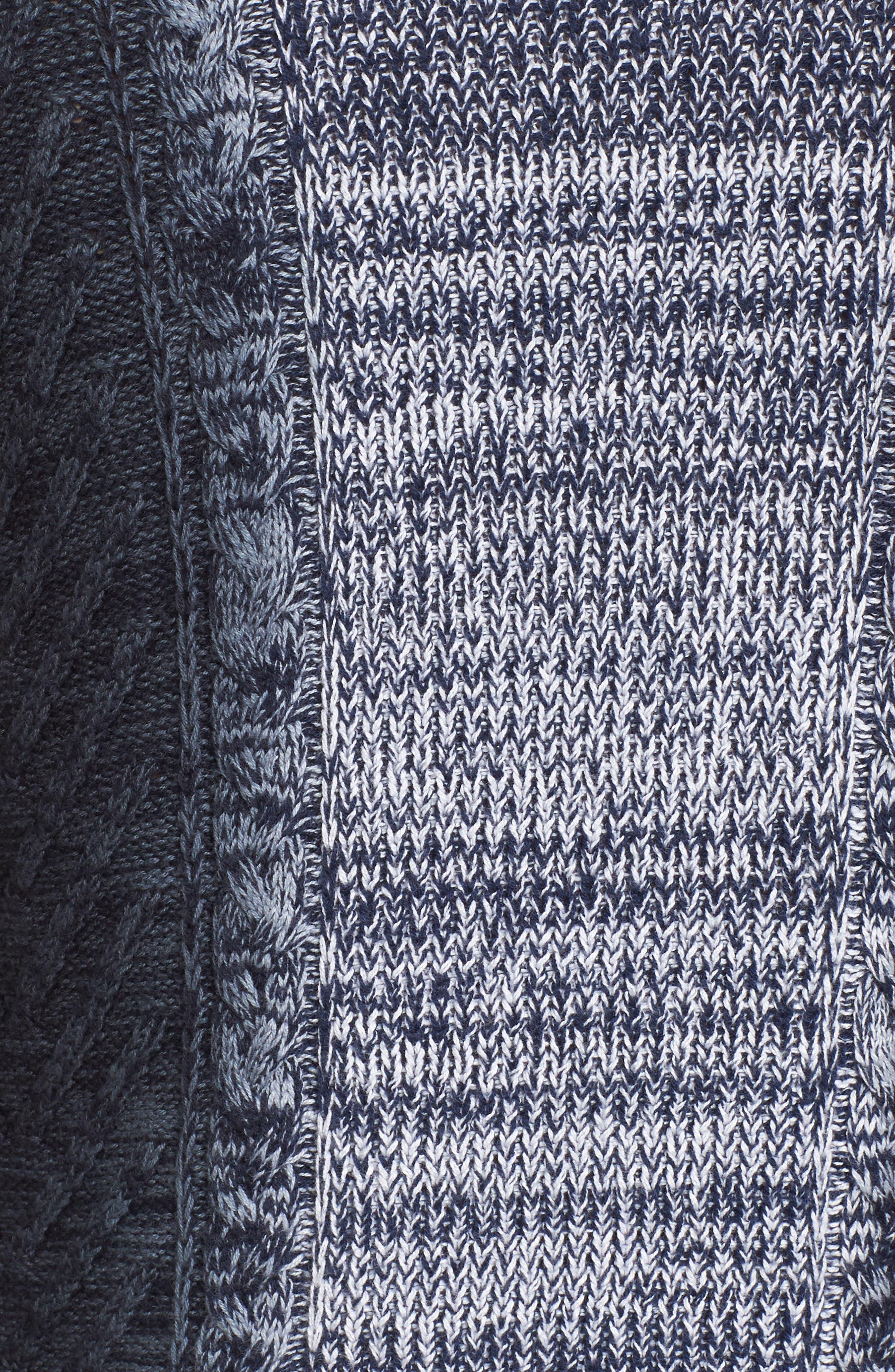 Alternate Image 5  - Vince Camuto Gradient Fade Turtleneck Sweater