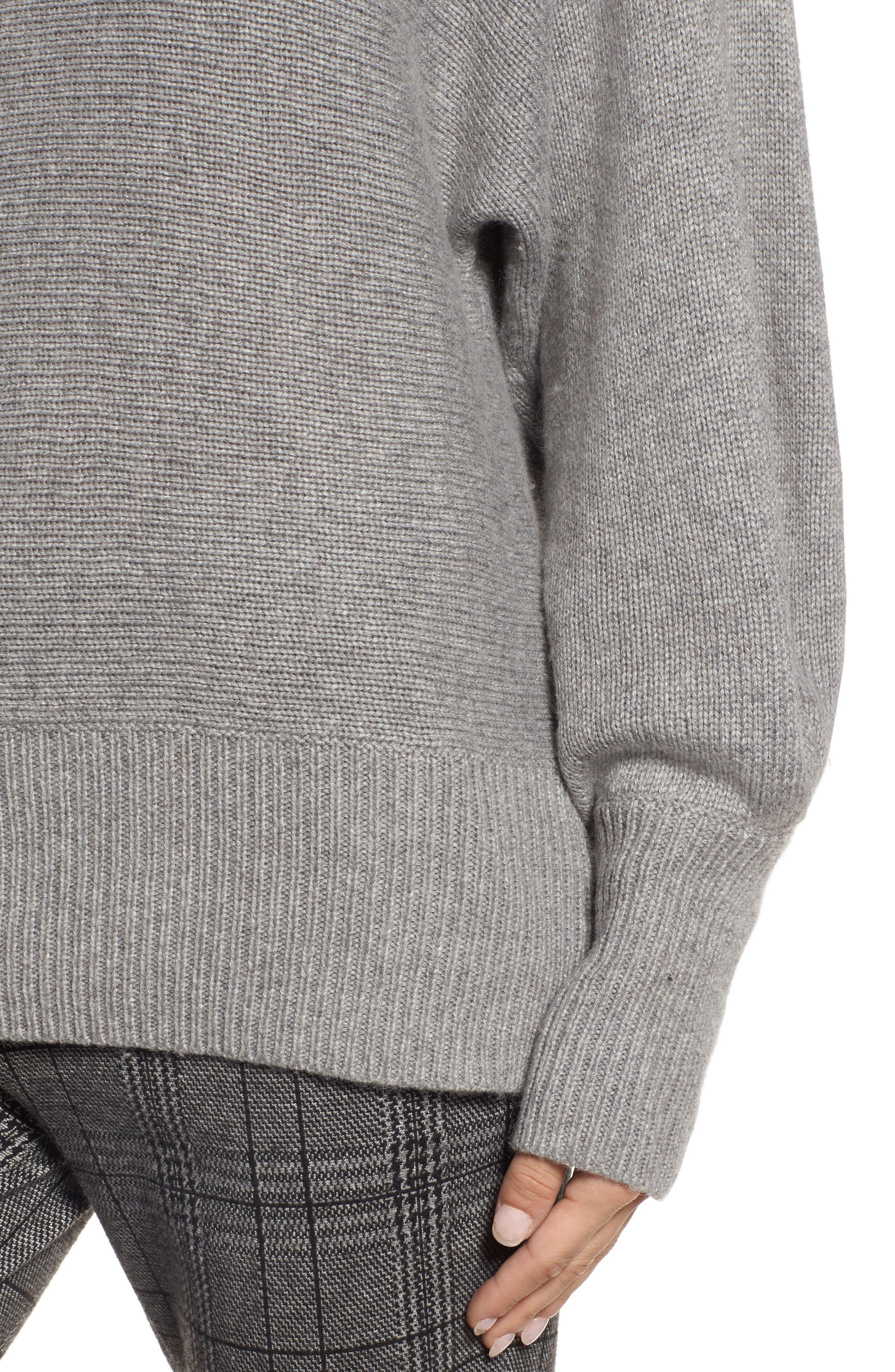 Alternate Image 4  - Halogen® Blouson Sleeve Sweater (Regular & Petite)
