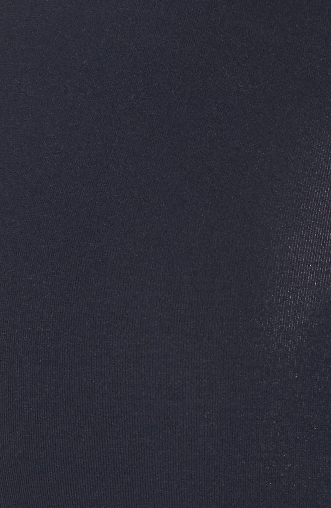 Alternate Image 5  - 1822 Denim Destructed Maternity Skinny Jeans (Hazel)