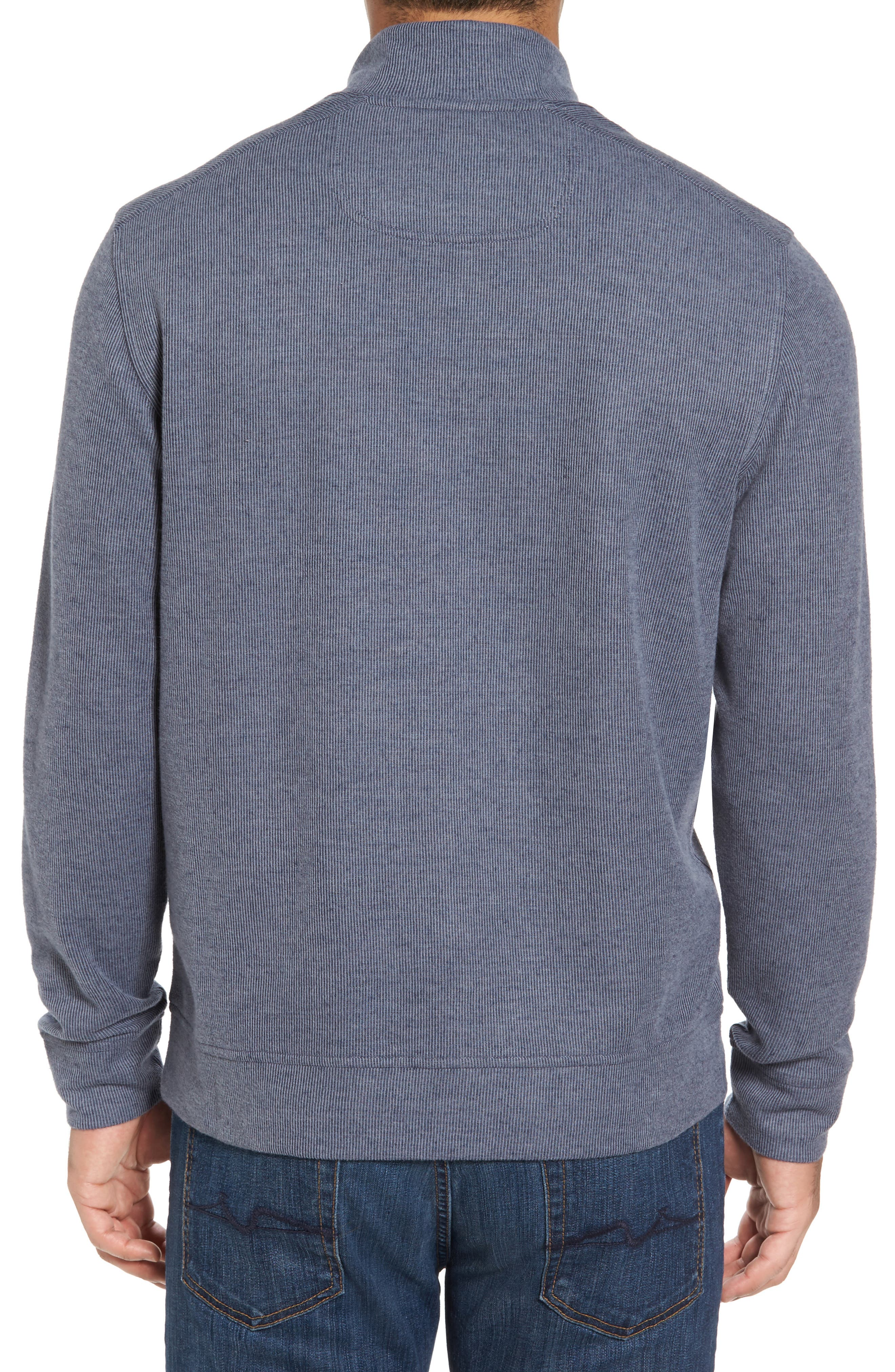 Alternate Image 2  - Tommy Bahama Cold Springs Snap Mock Neck Sweater