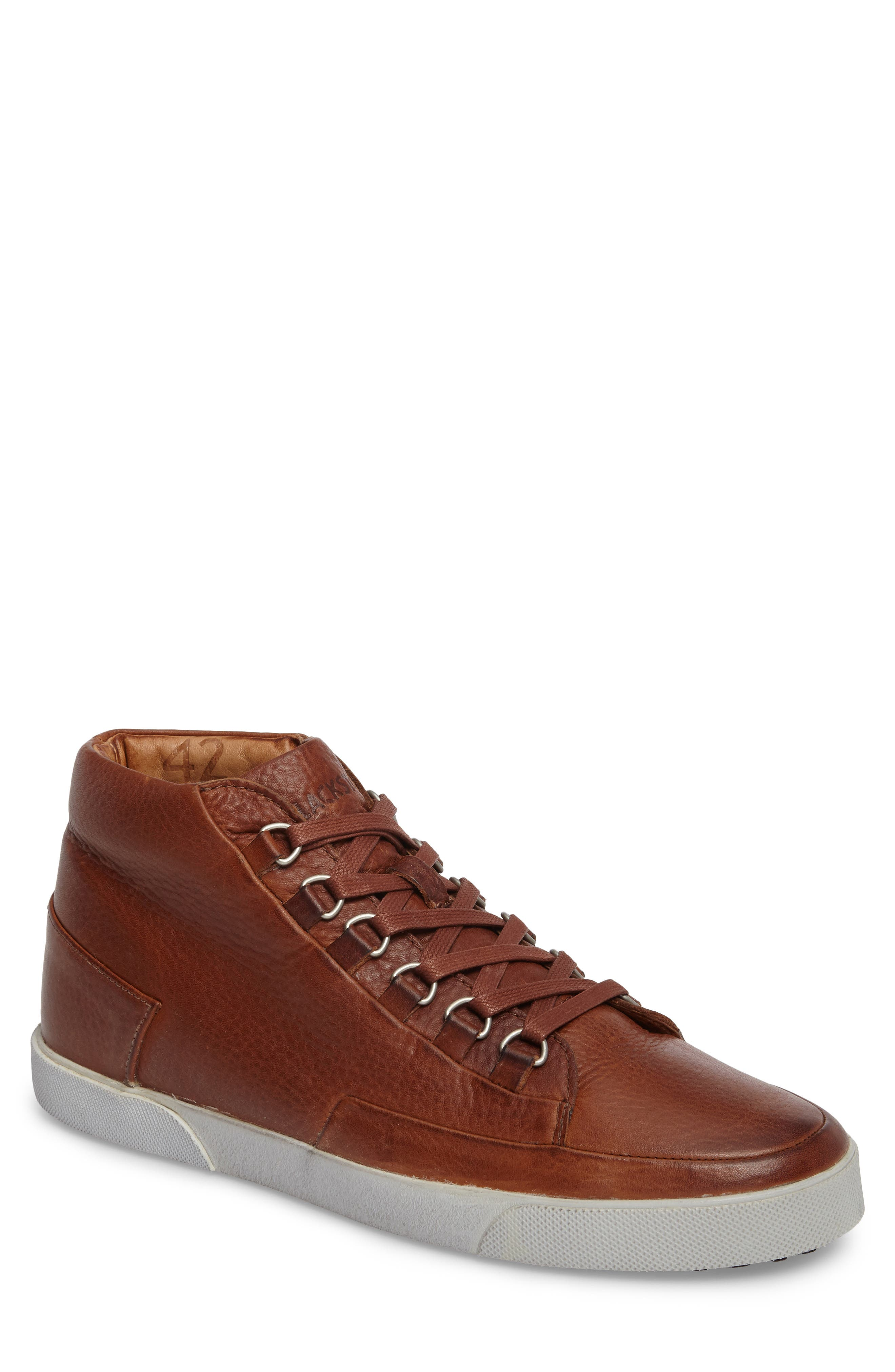 Blackstone KM 02 Sneaker with Genuine Shearling Lining (Men)