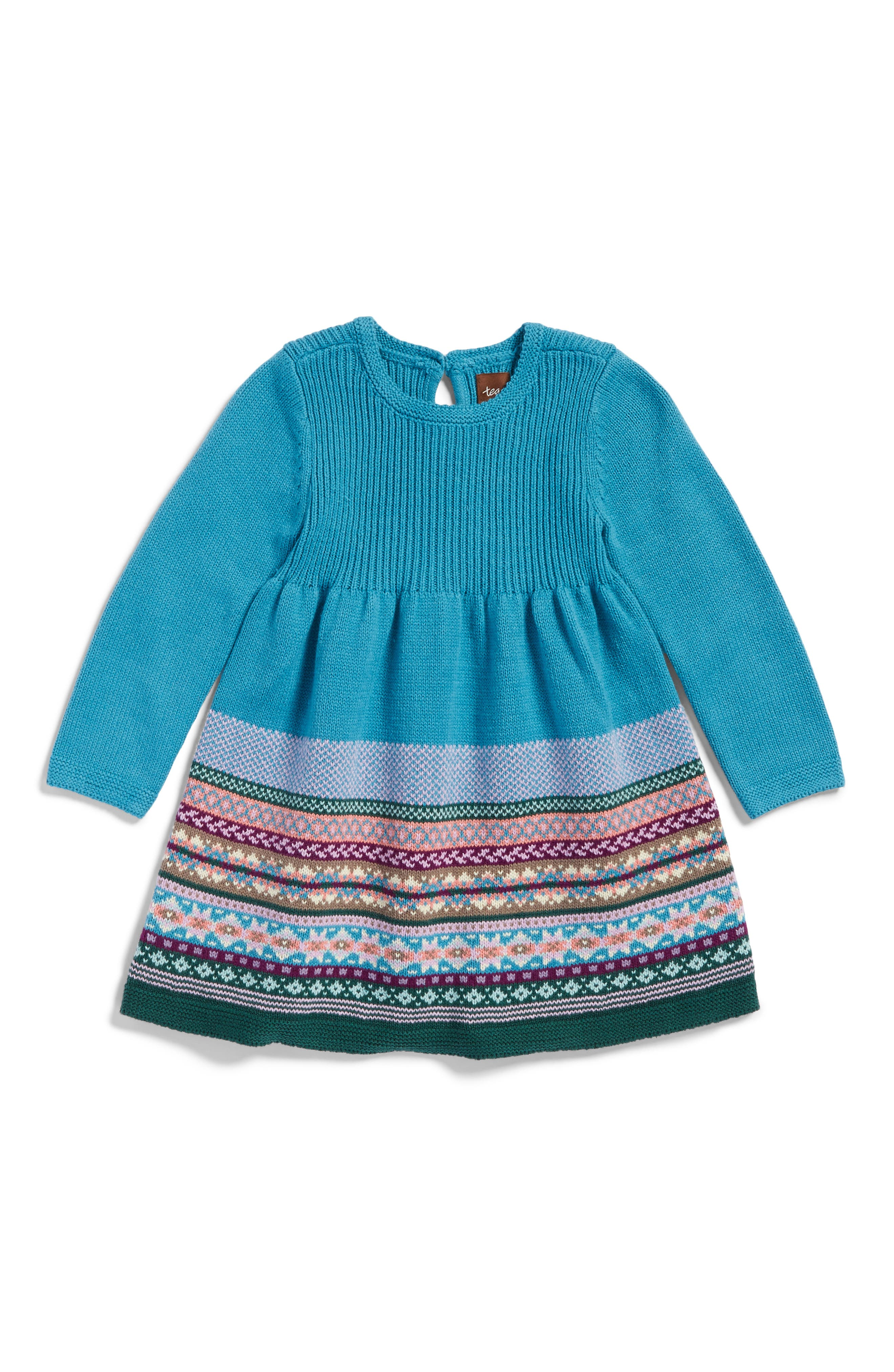 Alternate Image 1 Selected - Tea Collection Suzette Sweater Dress (Baby Girls)