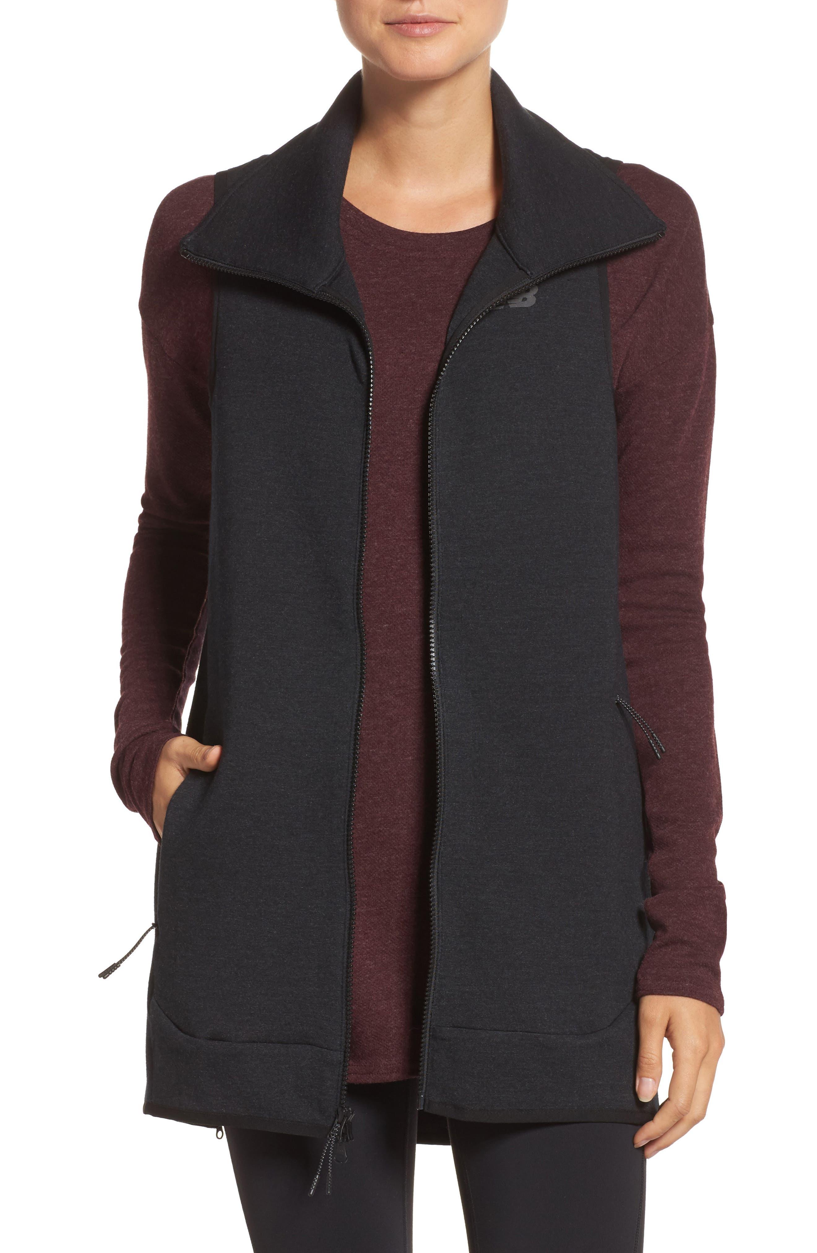 24/7 Luxe Vest,                             Main thumbnail 1, color,                             Bk