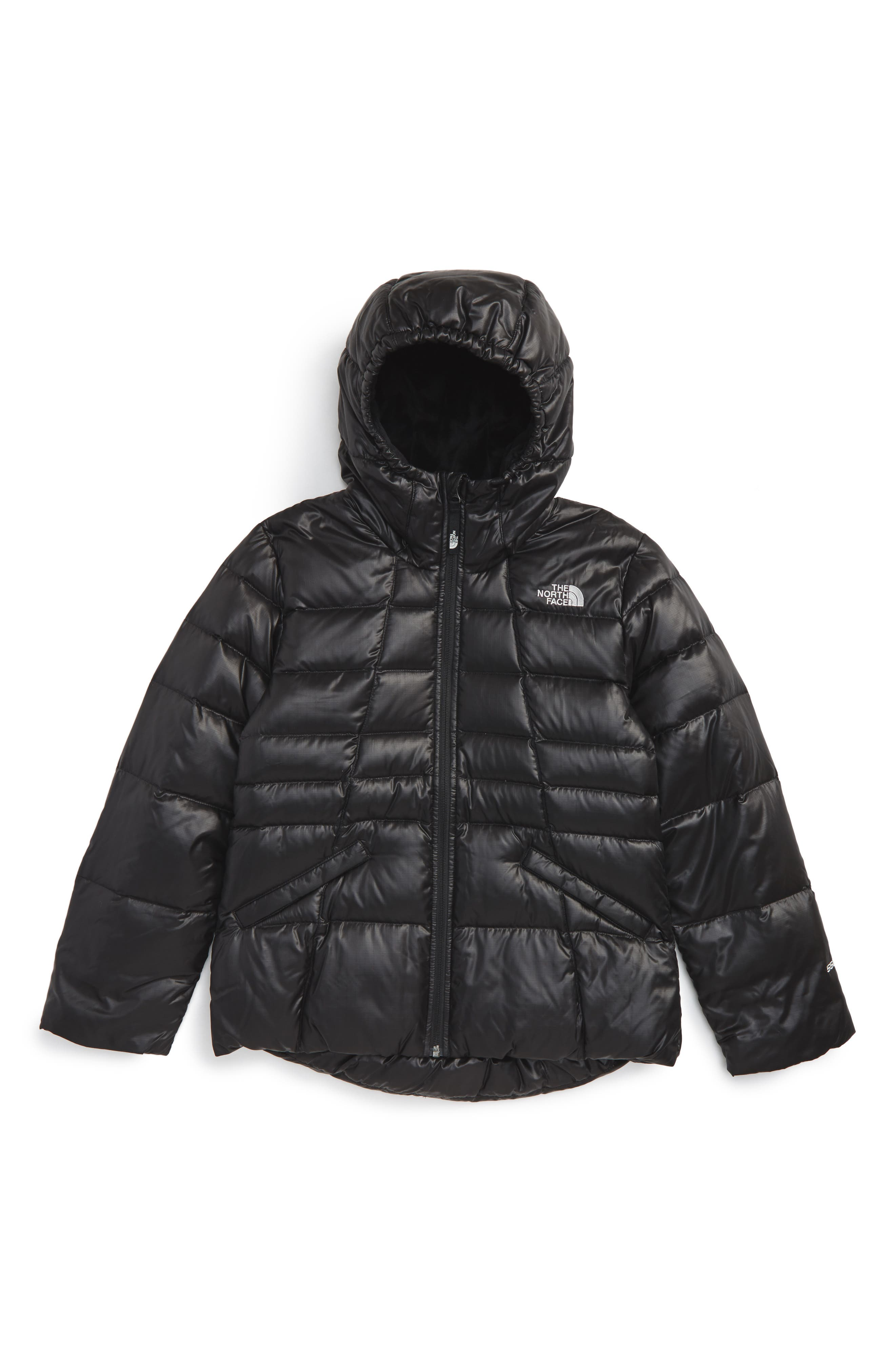 The North Face Moondoggy 2.0 Water Repellent Down Jacket (Little Girls & Big Girls)