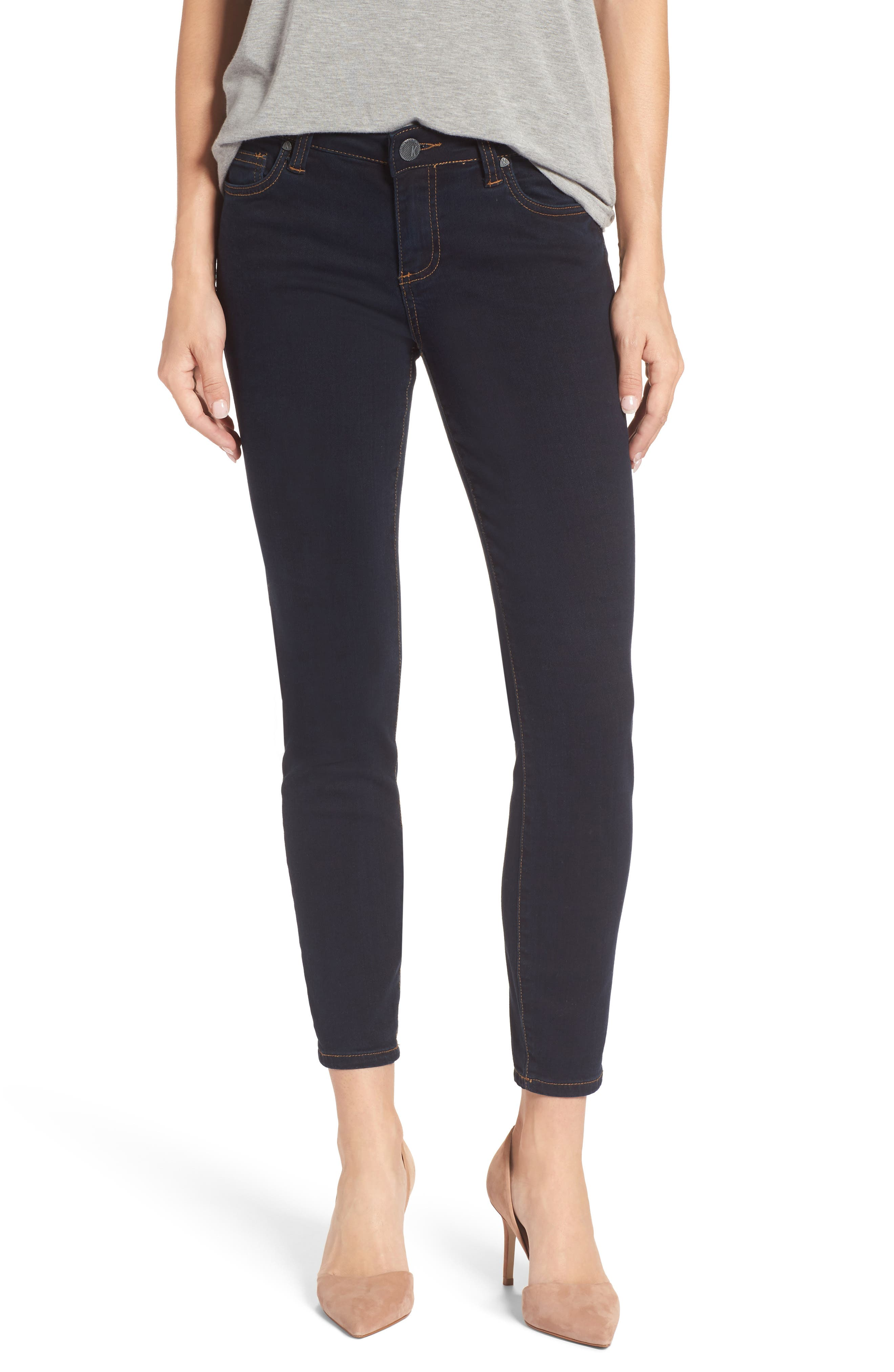 Connie Ankle Skinny Jeans,                         Main,                         color, Unisonant/ Dark Stone Base