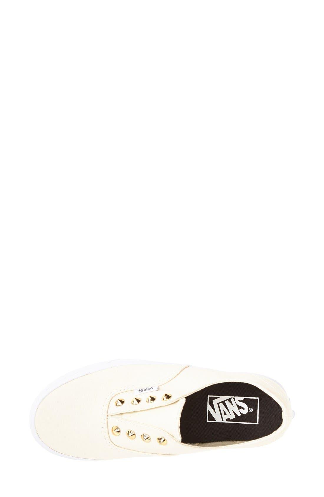 Alternate Image 3  - Vans 'Authentic Gore - Studs' Slip-On Sneaker (Women)