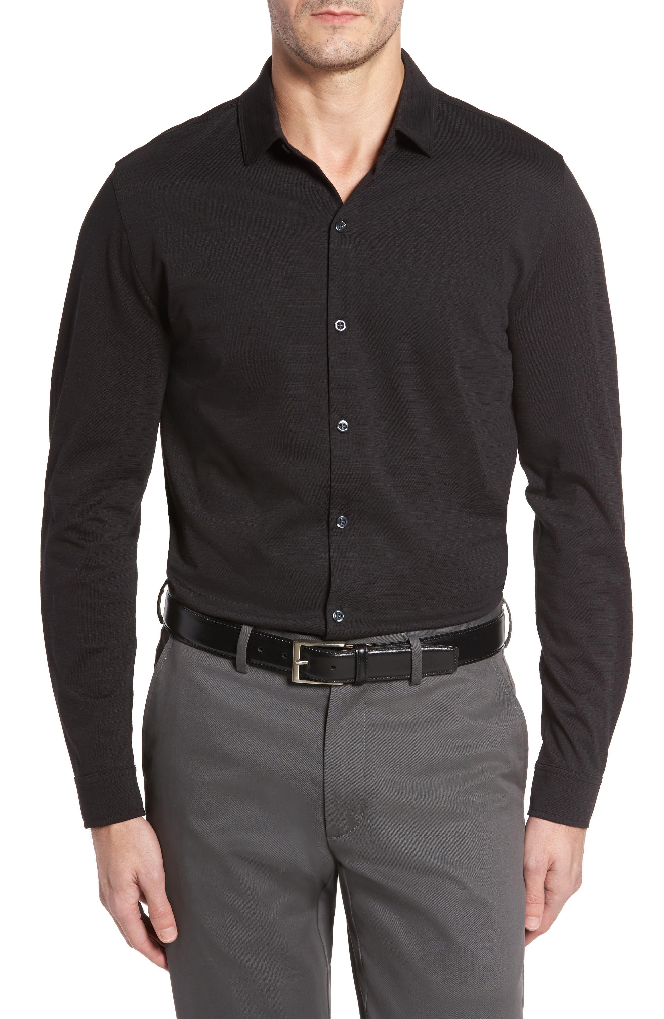 Robert Barakett Atwood Knit Sport Shirt