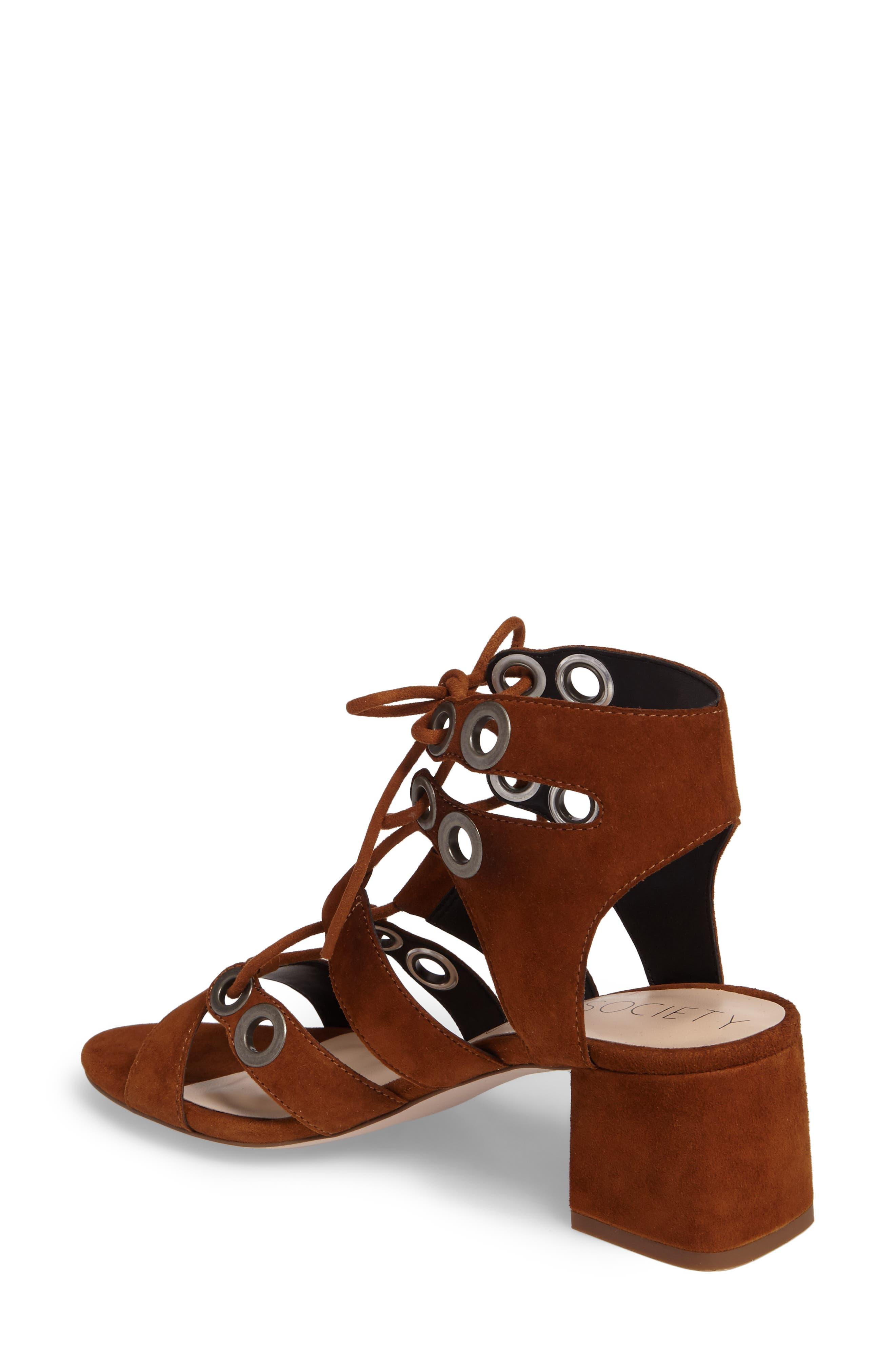 Alternate Image 2  - Sole Society Rosemary Lace-Up Sandal (Women)
