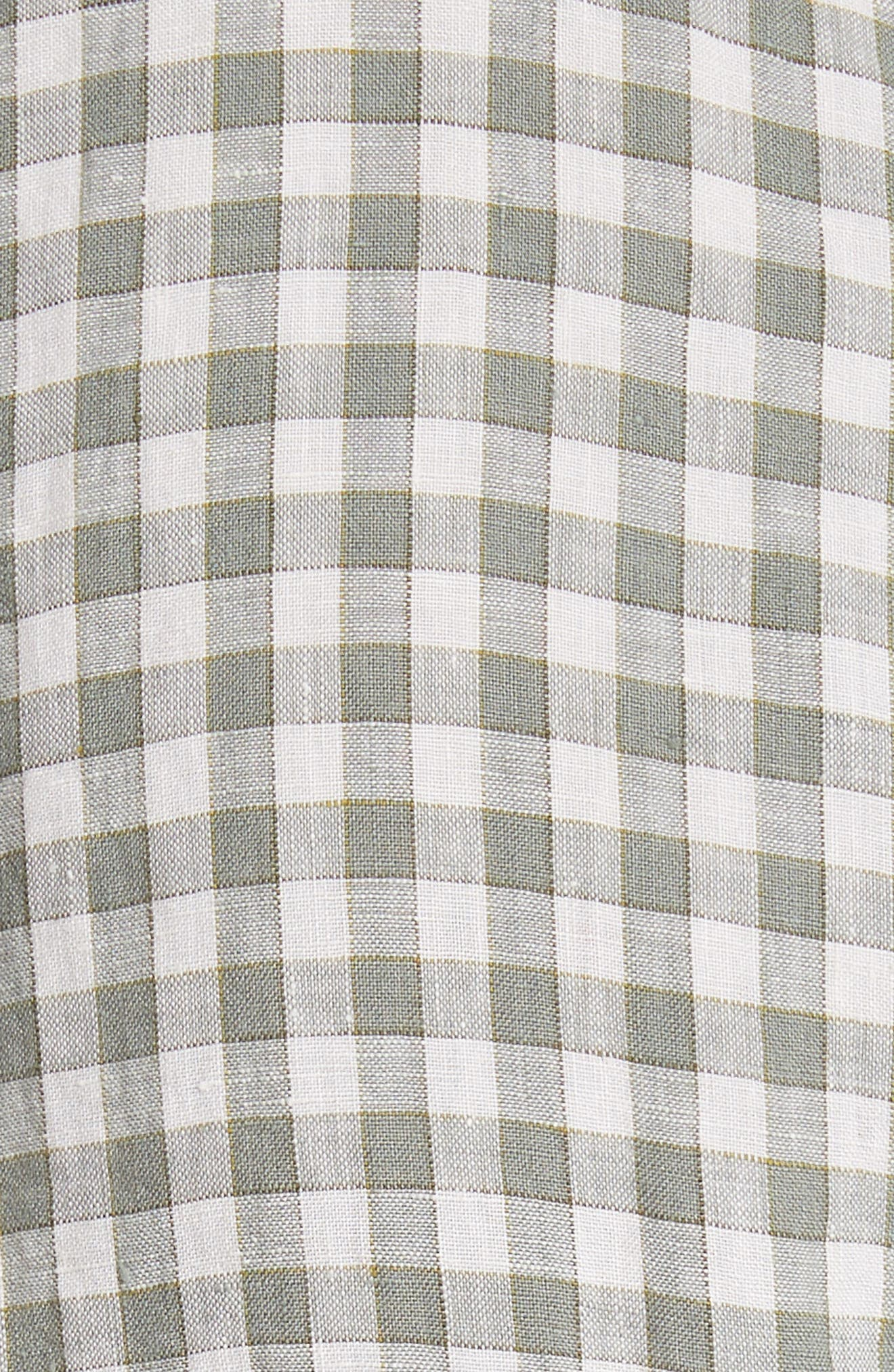 Alternate Image 5  - Todd Snyder Check Woven Shirt