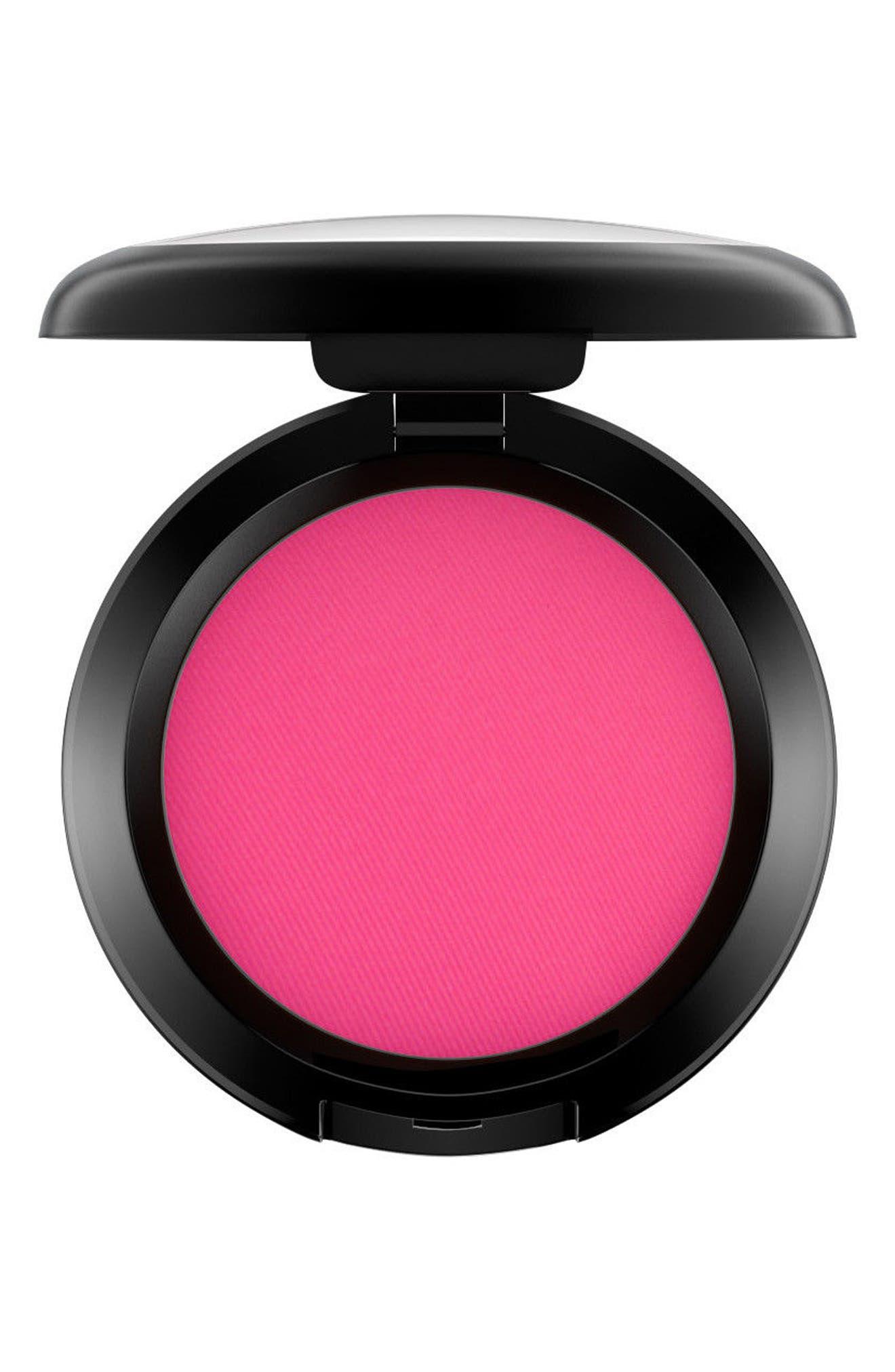 MAC Powder Blush,                         Main,                         color, Full Fuchsia (F)