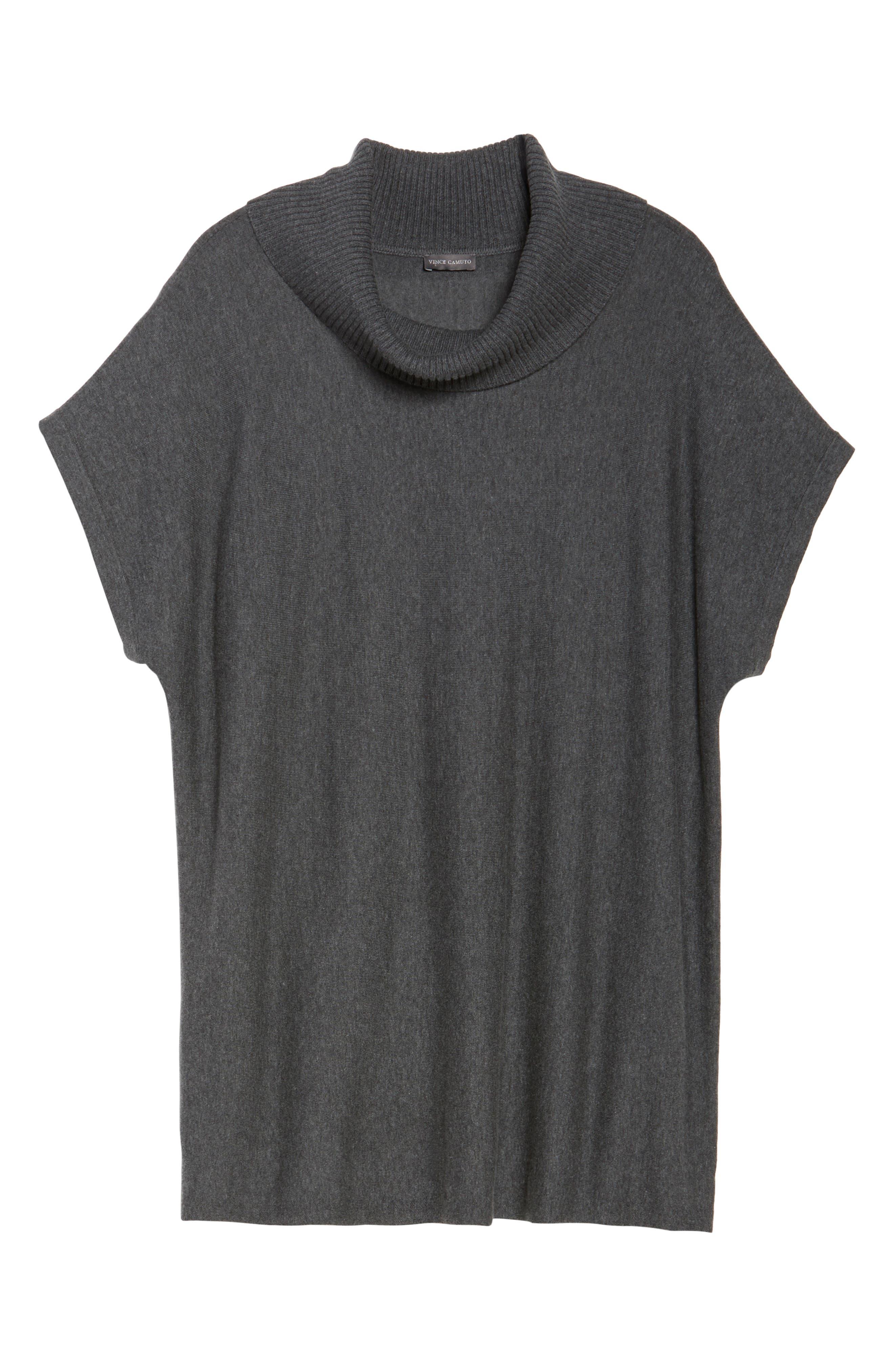 Alternate Image 6  - Vince Camuto Turtleneck Sweater (Plus Size)