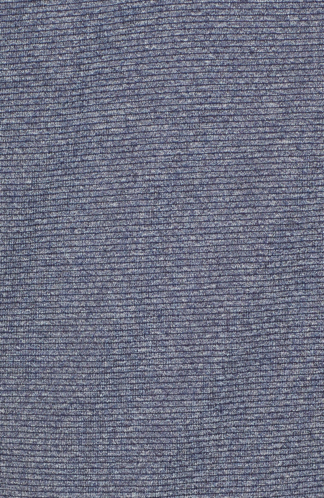 Shoreline - Houston Texans Half Zip Pullover,                             Alternate thumbnail 5, color,                             Liberty Navy Heather