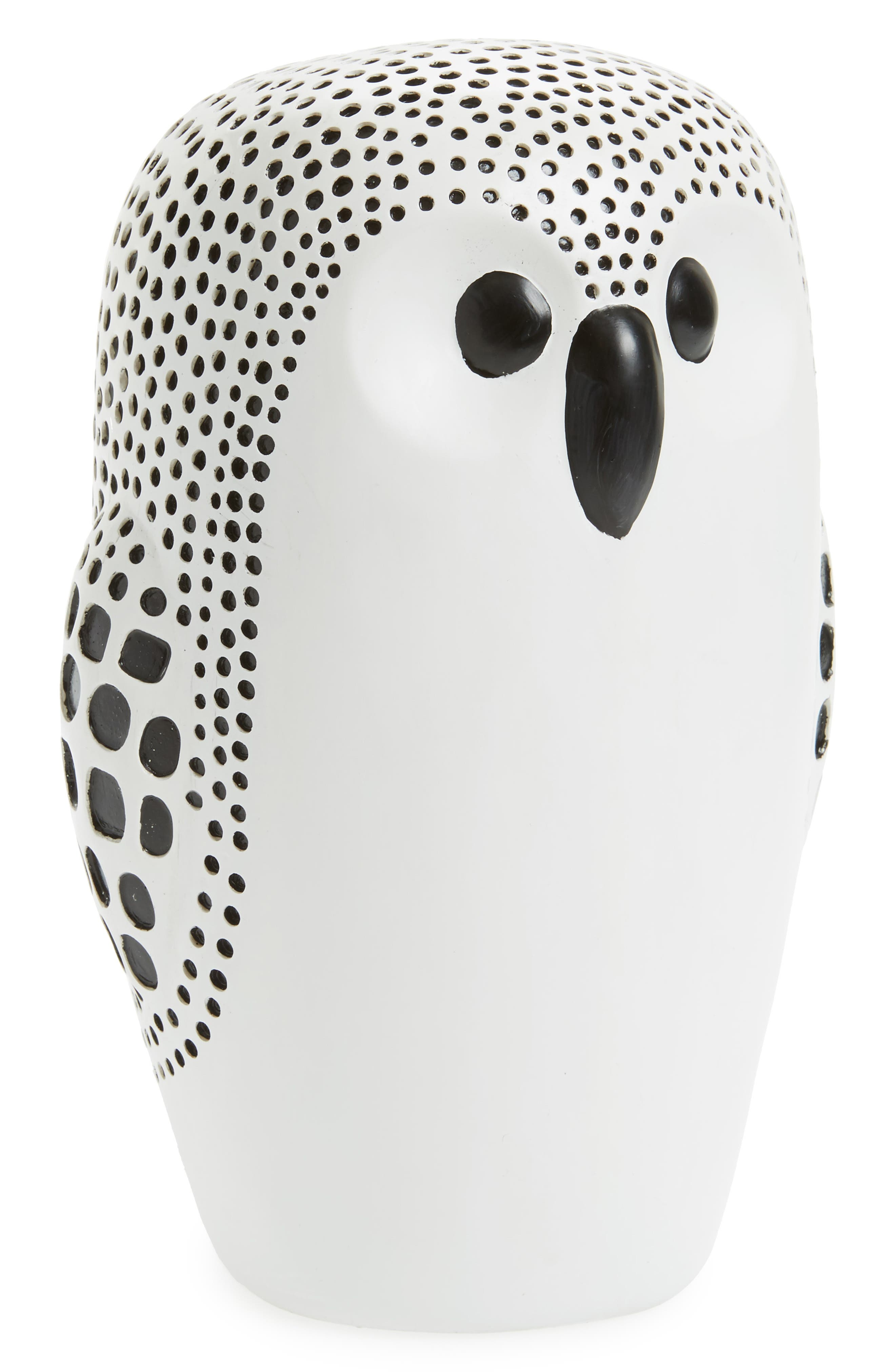 Home Owl Decoration,                         Main,                         color, Black-White
