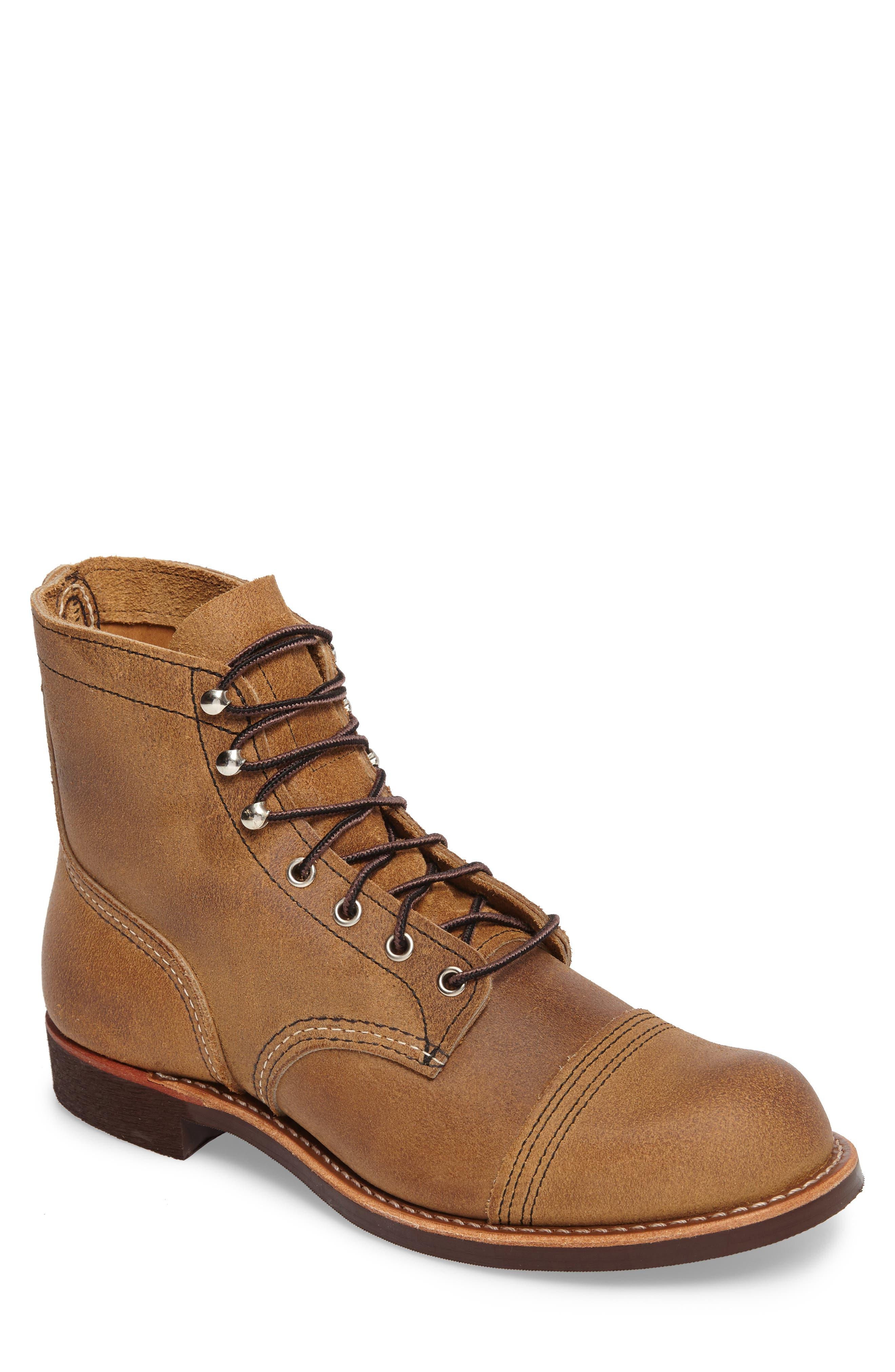 Red Wing Iron Ranger Cap Toe Boot (Men)