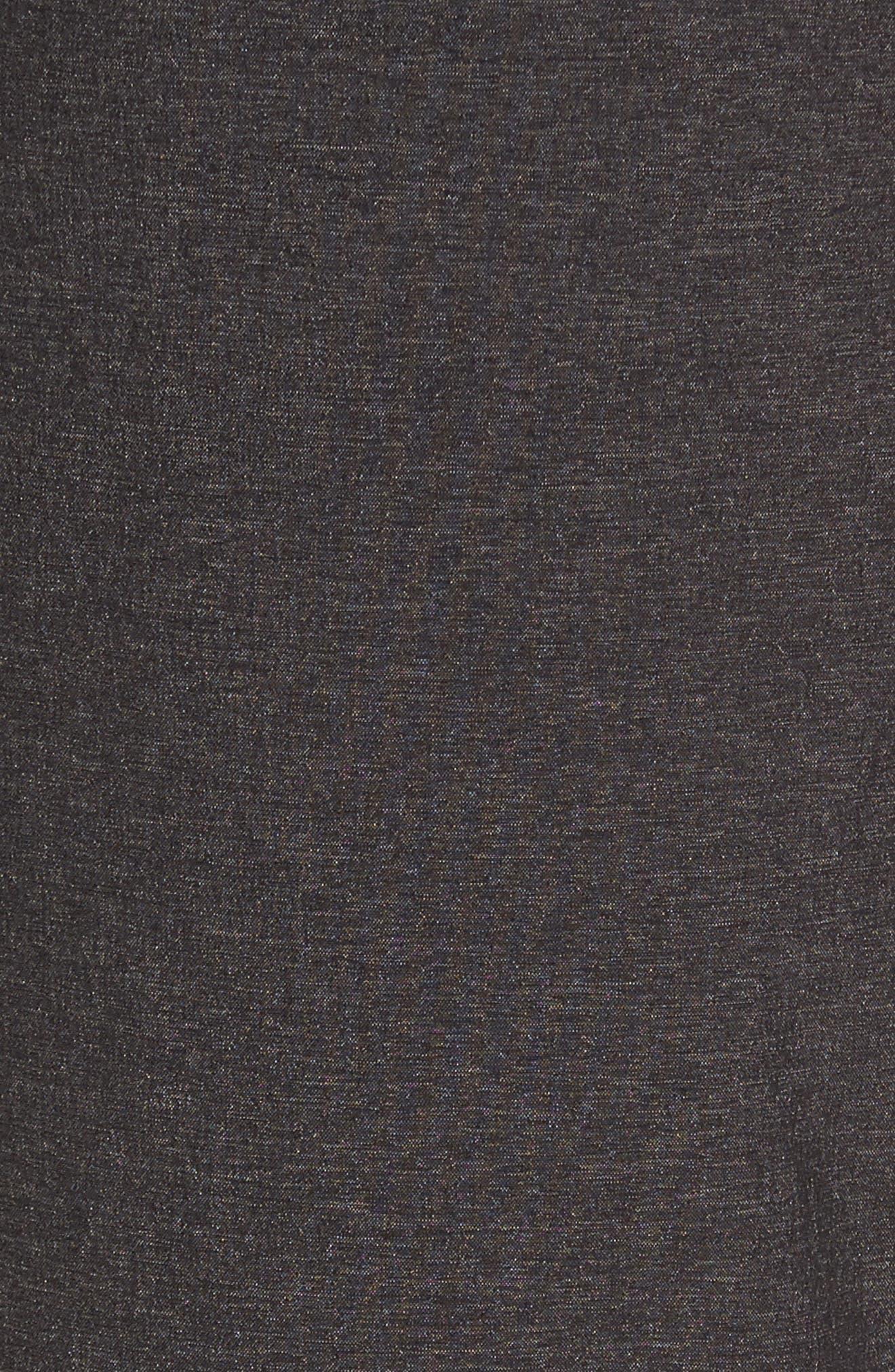 Zip Pocket Sweatpants,                             Alternate thumbnail 5, color,                             Grey Ebony Melange