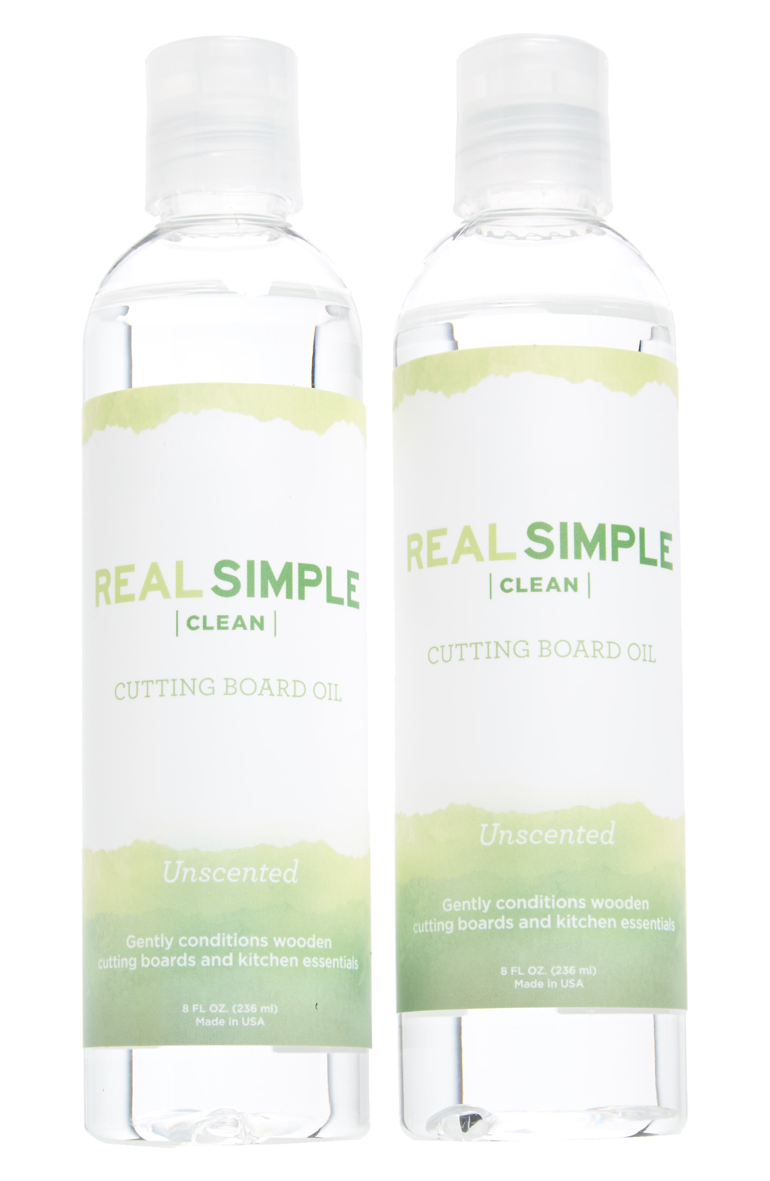 Main Image - Real Simple 2-Pack Wood Cutting Board Oil