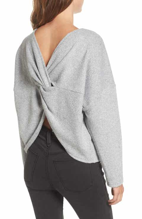 STOREE Knot Back Sweatshirt