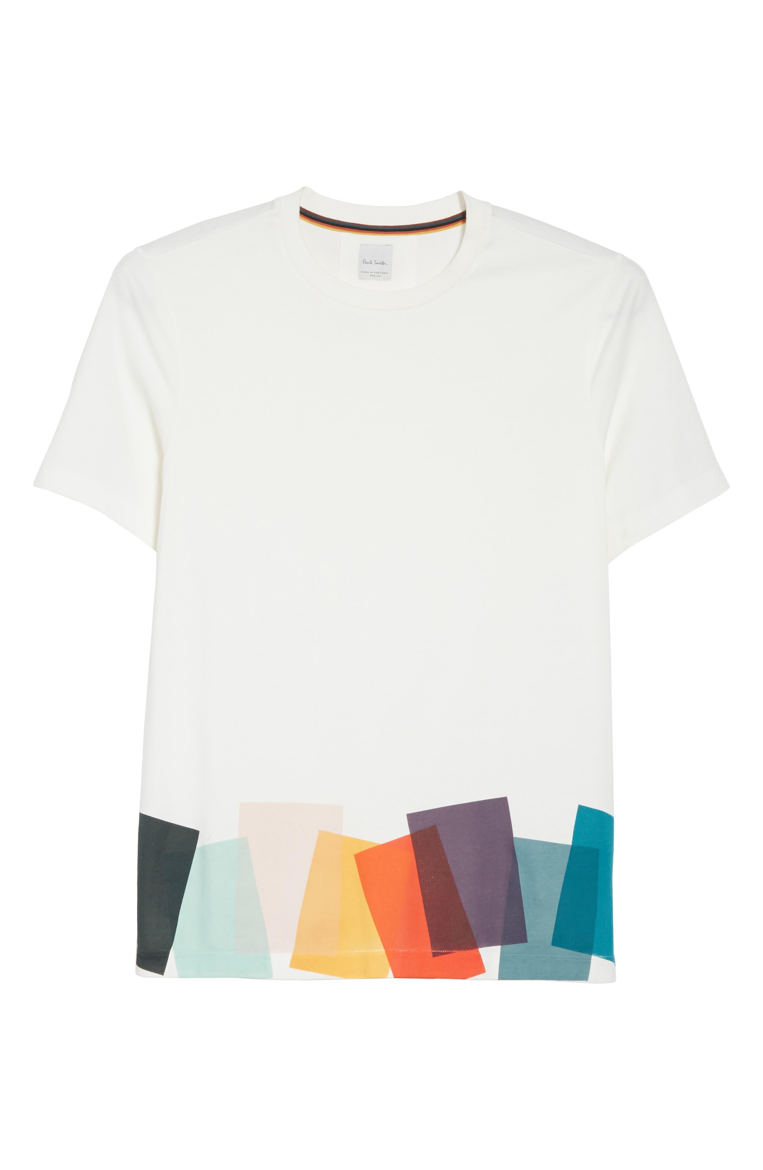 Alternate Image 6  - Paul Smith Colorblock Print T-shirt