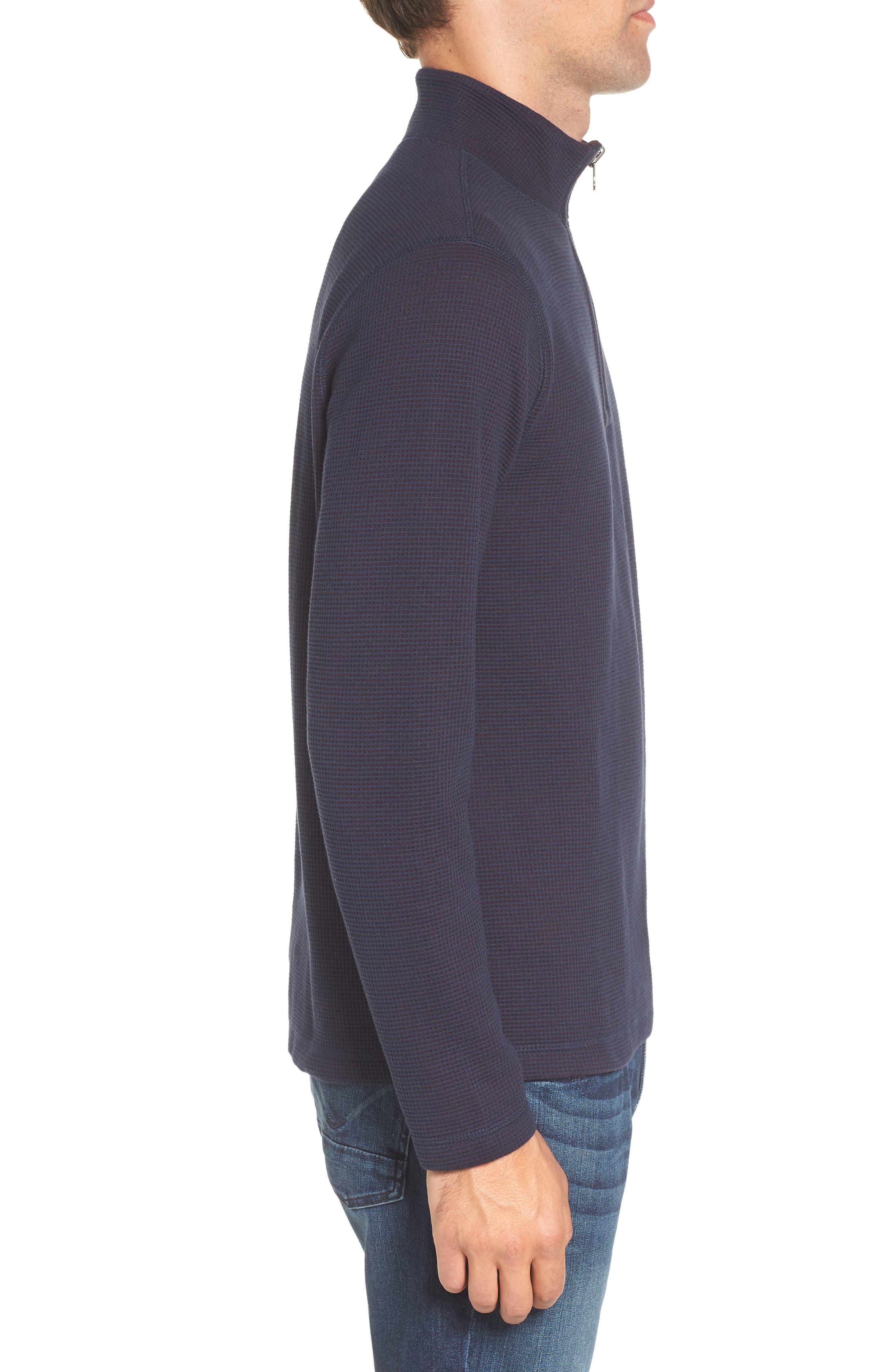 Alternate Image 3  - Tailor Vintage Reversible Quarter Zip Pullover