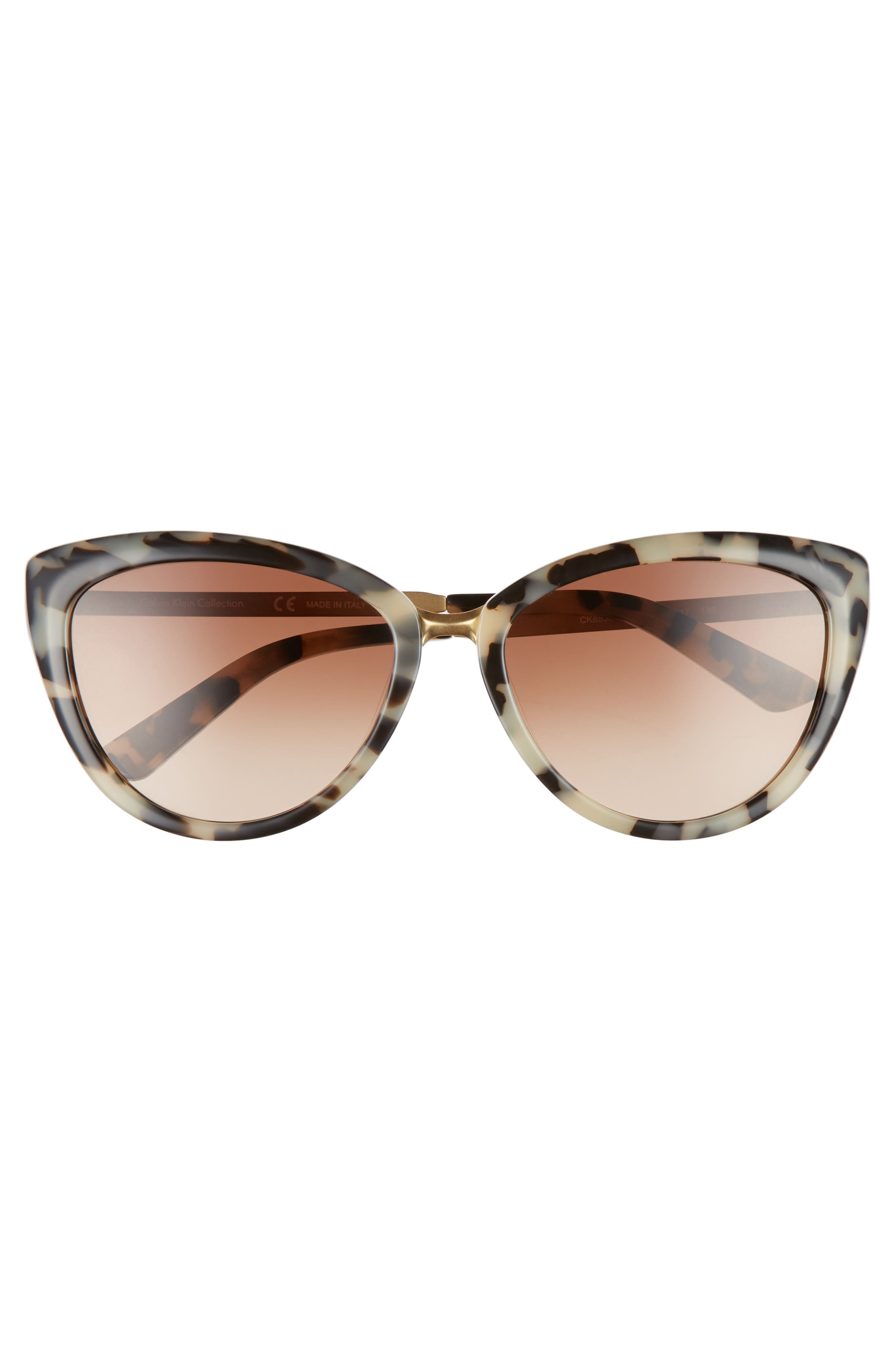 Alternate Image 3  - CALVIN KLEIN 56mm Cat Eye Sunglasses