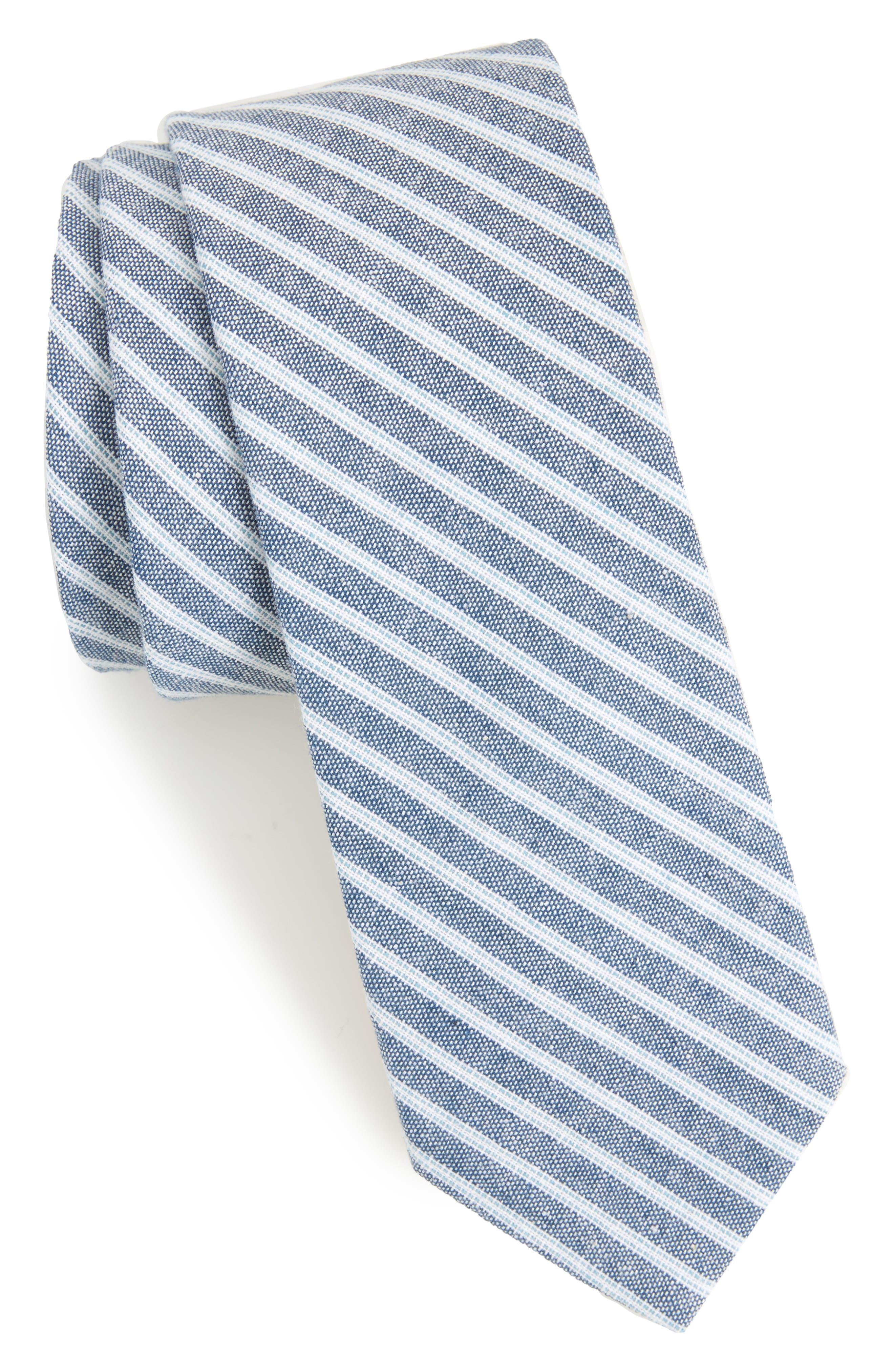 1901 Rossie Stripe Cotton Tie