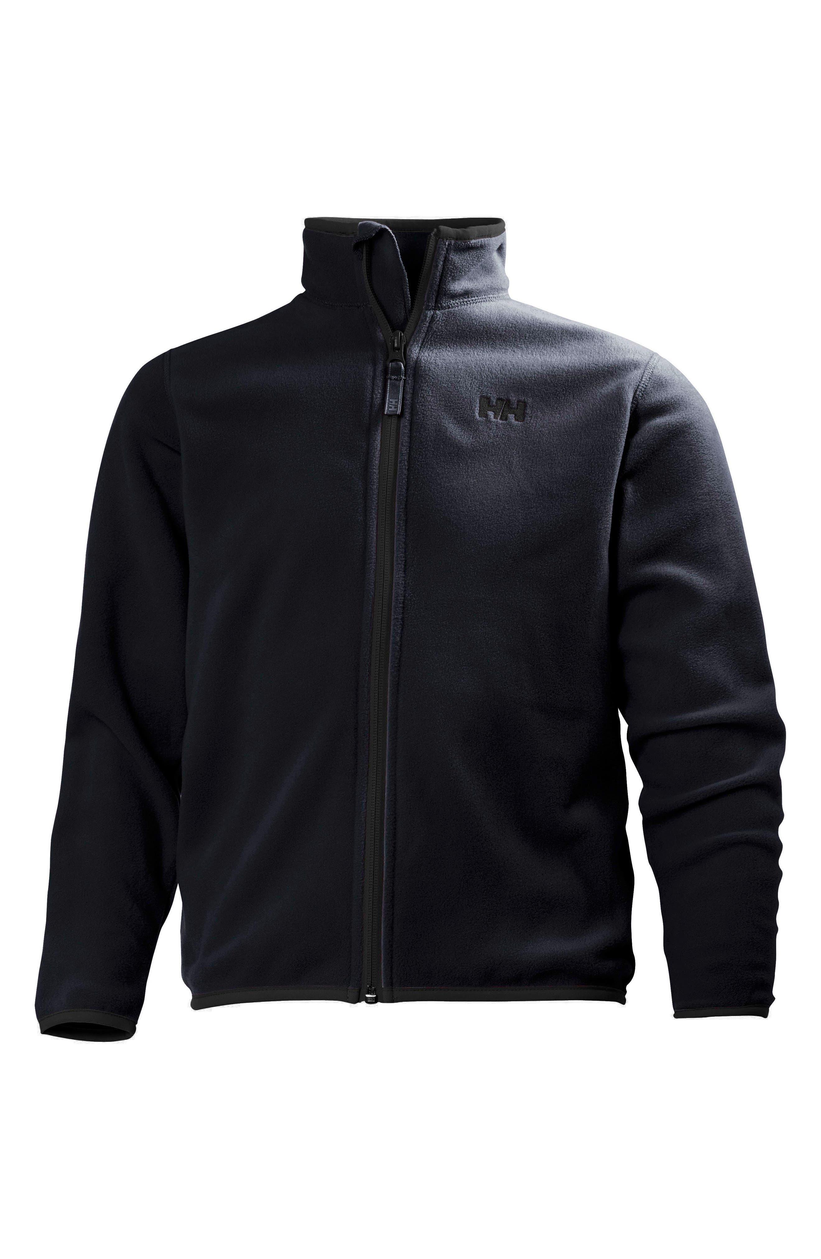 Jr. Daybreaker Polartec<sup>®</sup> Fleece Jacket,                         Main,                         color, Graphite Blue