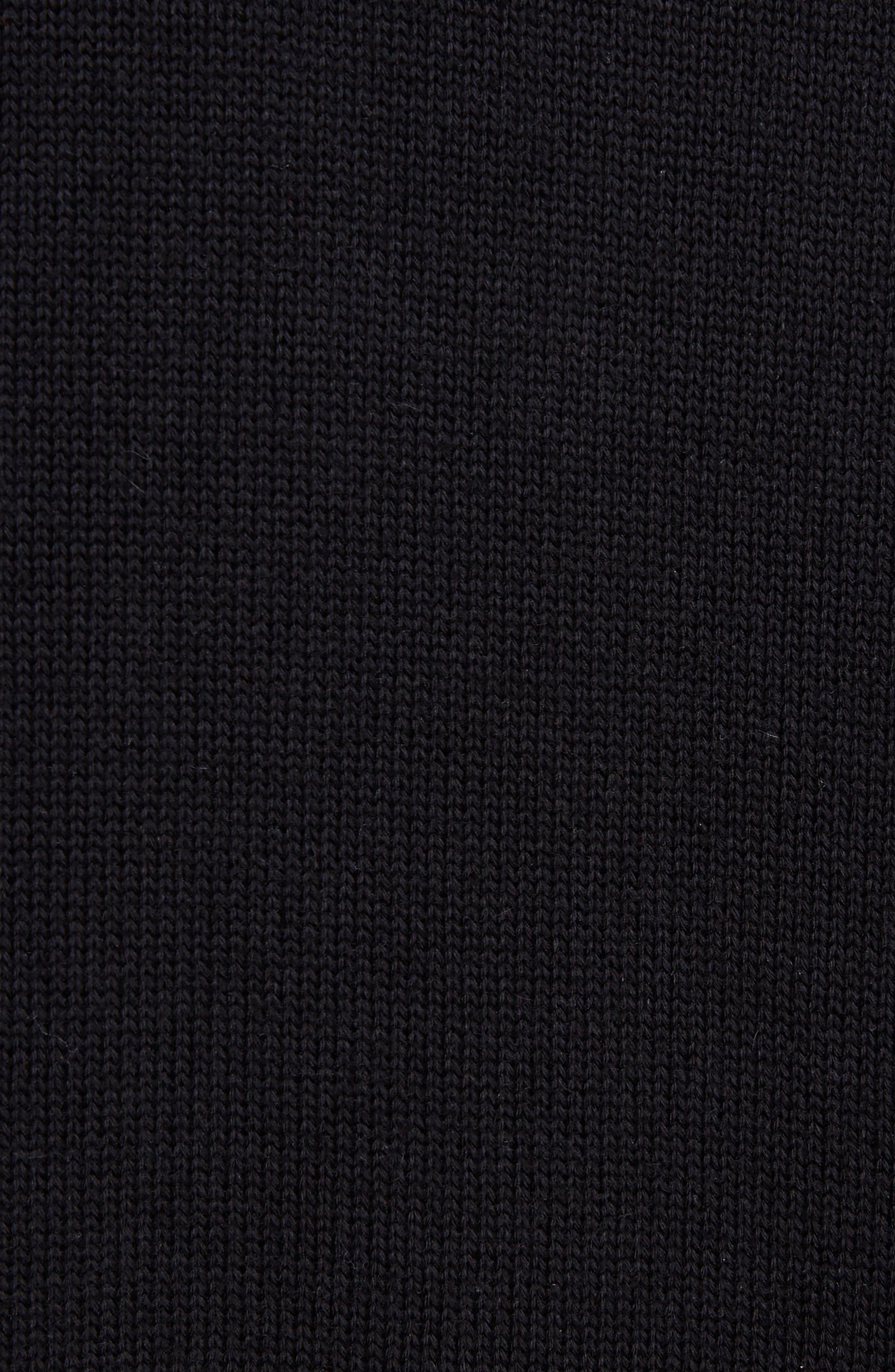 Alternate Image 5  - Loewe Leather Band Cotton & Cashmere Cardigan