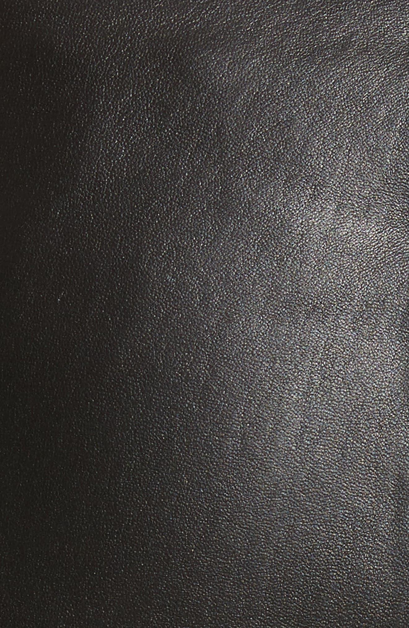 Alternate Image 5  - JOSEPH Stretch Leather Leggings