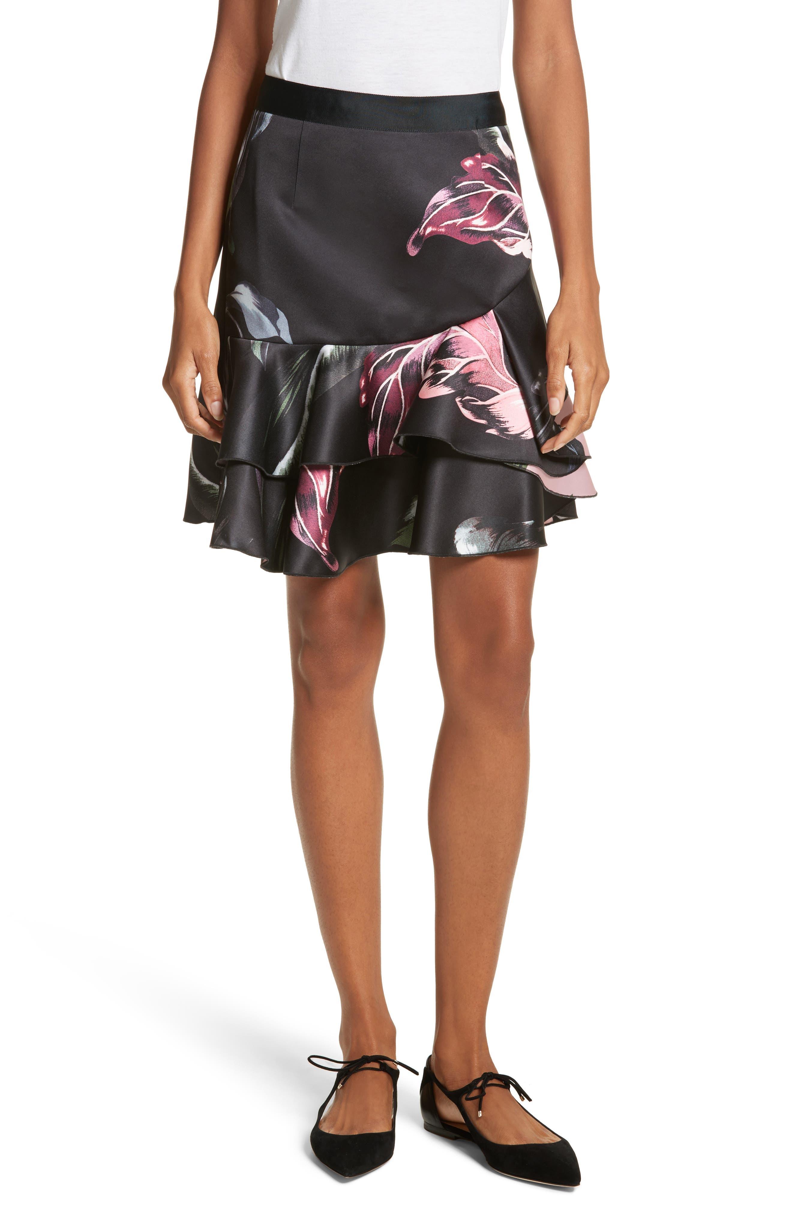 Ted Baker London Tyee Eden Ruffle Skirt