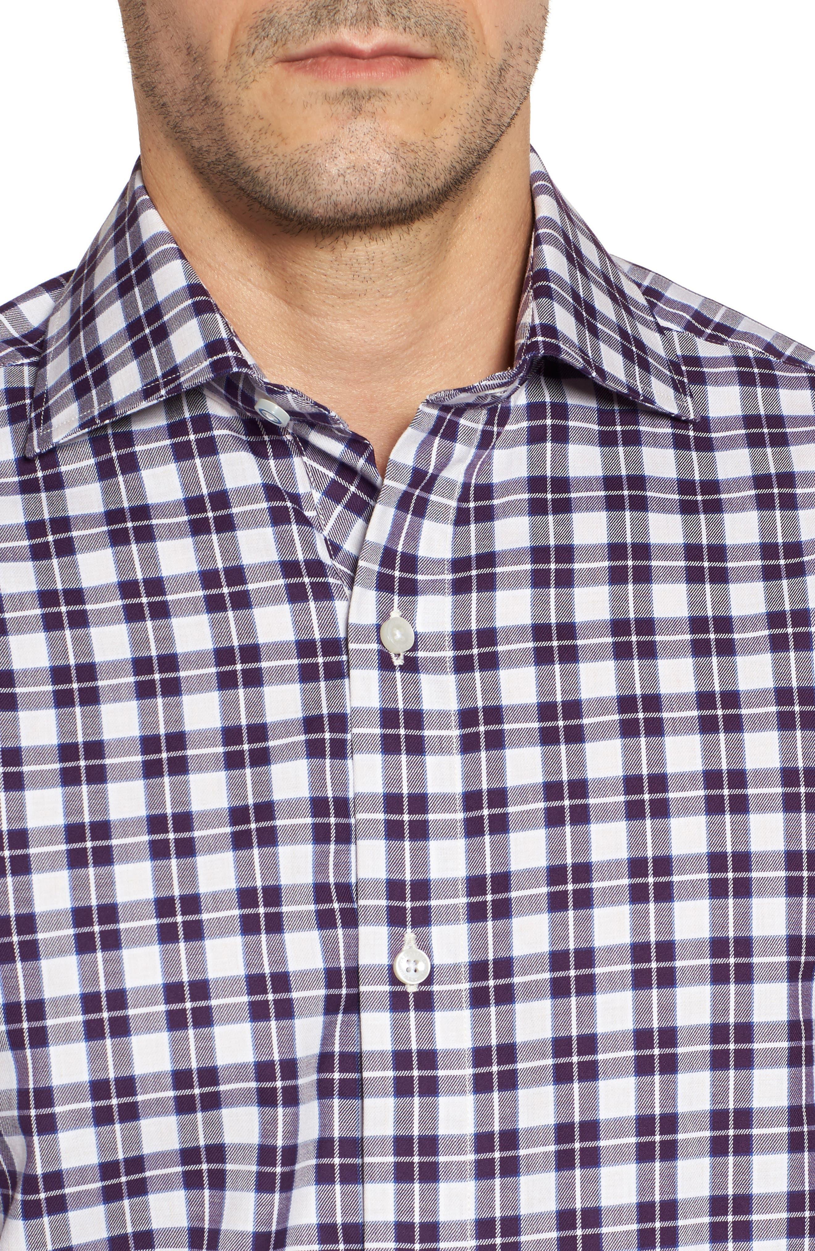 Alternate Image 4  - TailorByrd Chalmette Check Twill Sport Shirt