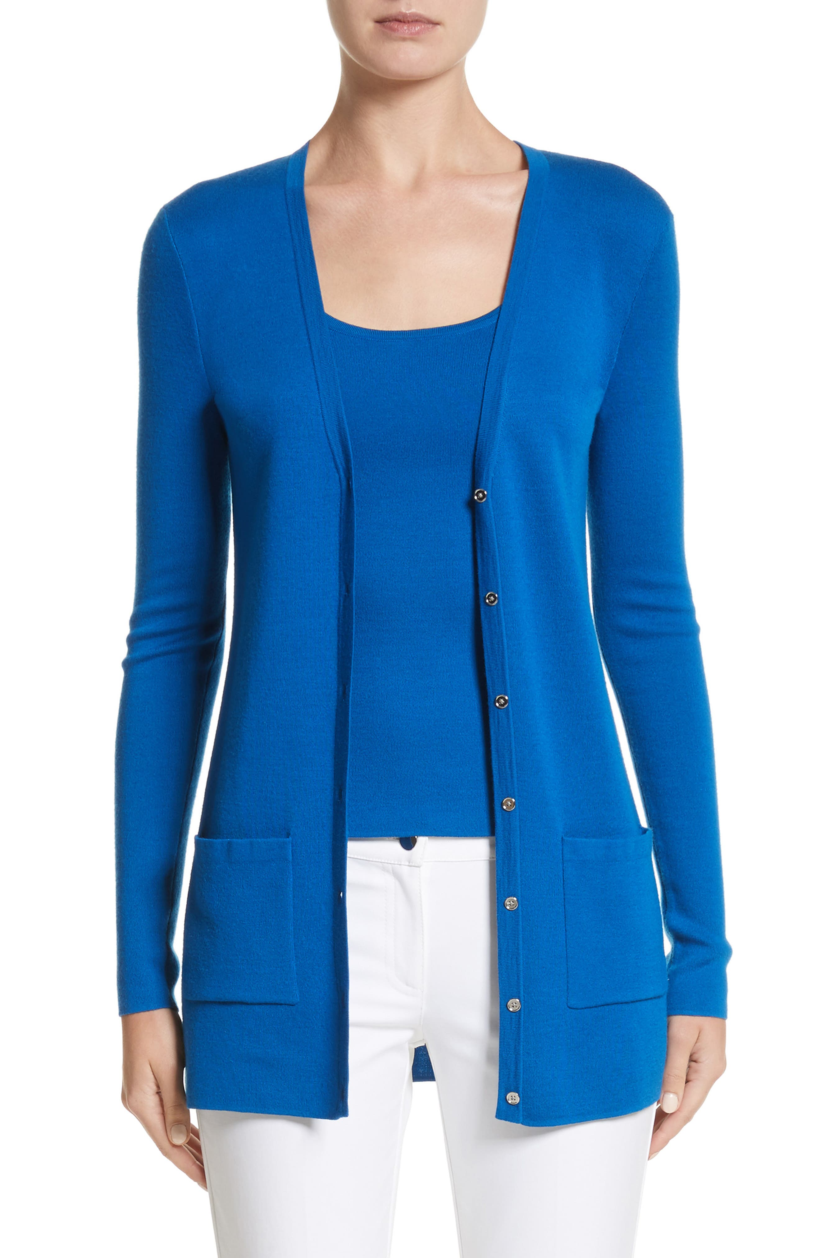 Michael Kors Long Cashmere Cardigan