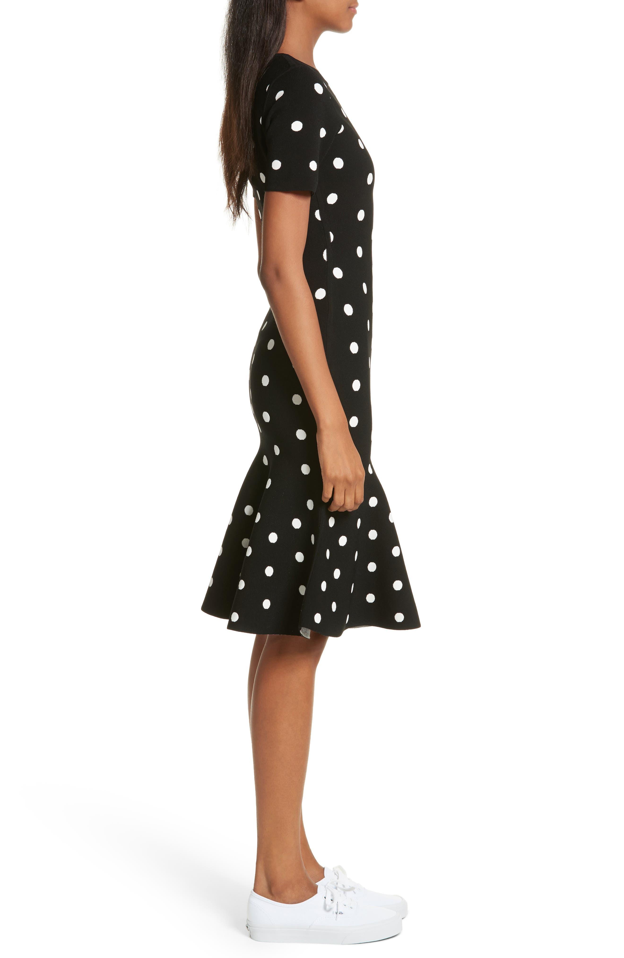 Alternate Image 3  - Milly Polka Dot Mermaid Dress