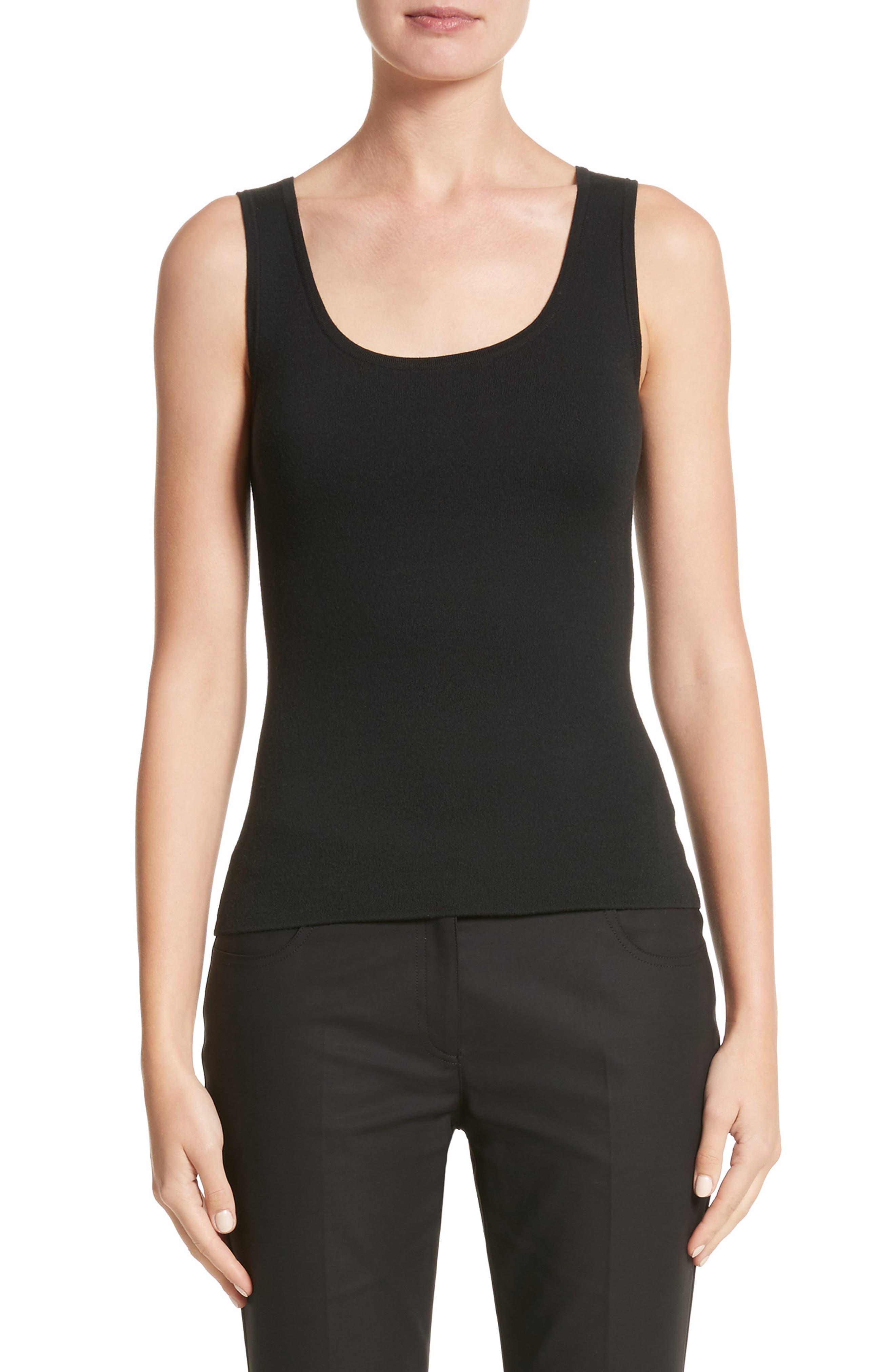 Cashmere Shell,                         Main,                         color, Black