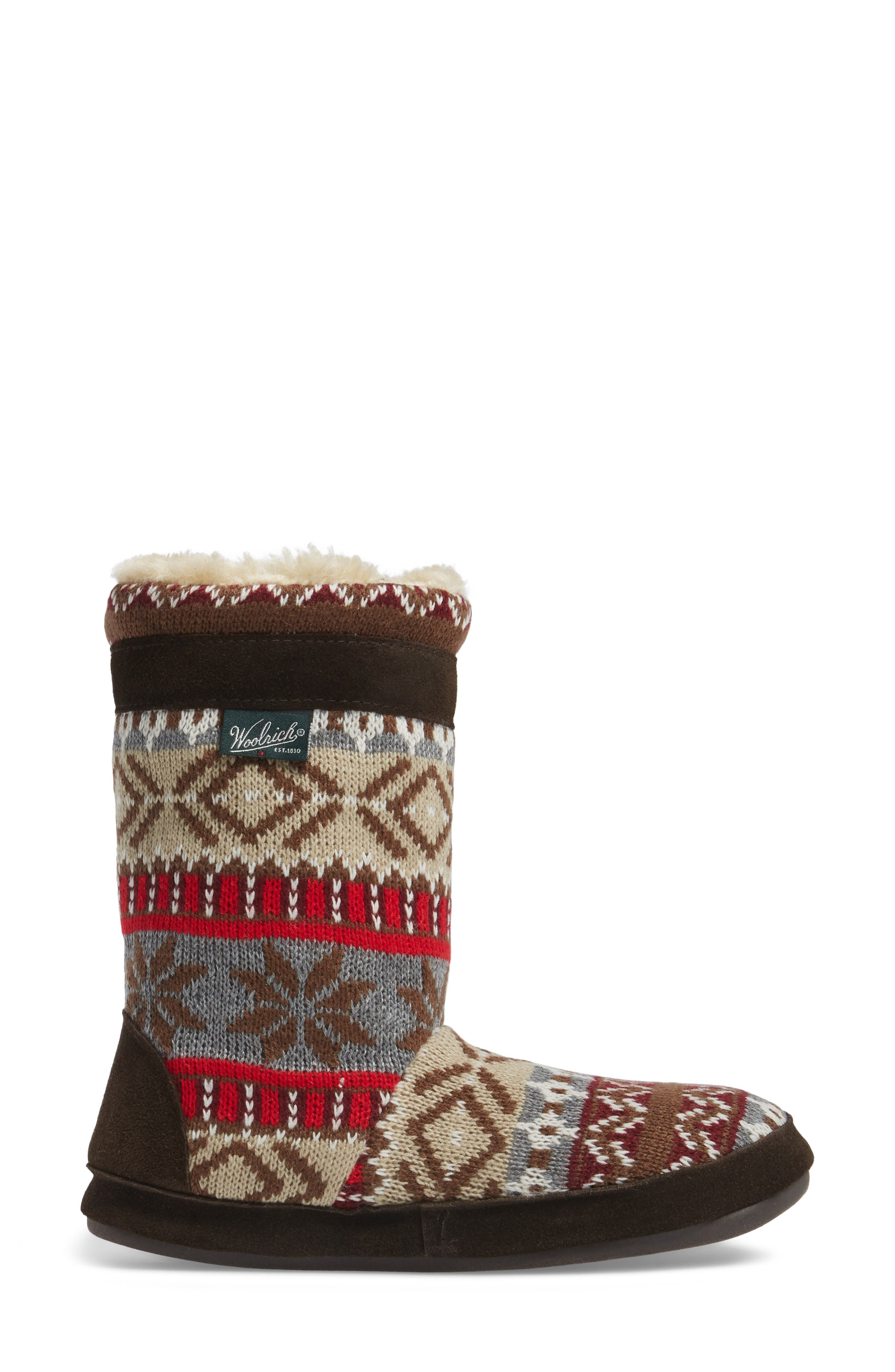 Alternate Image 3  - Woolrich Whitecap Knit Slipper Bootie (Women)
