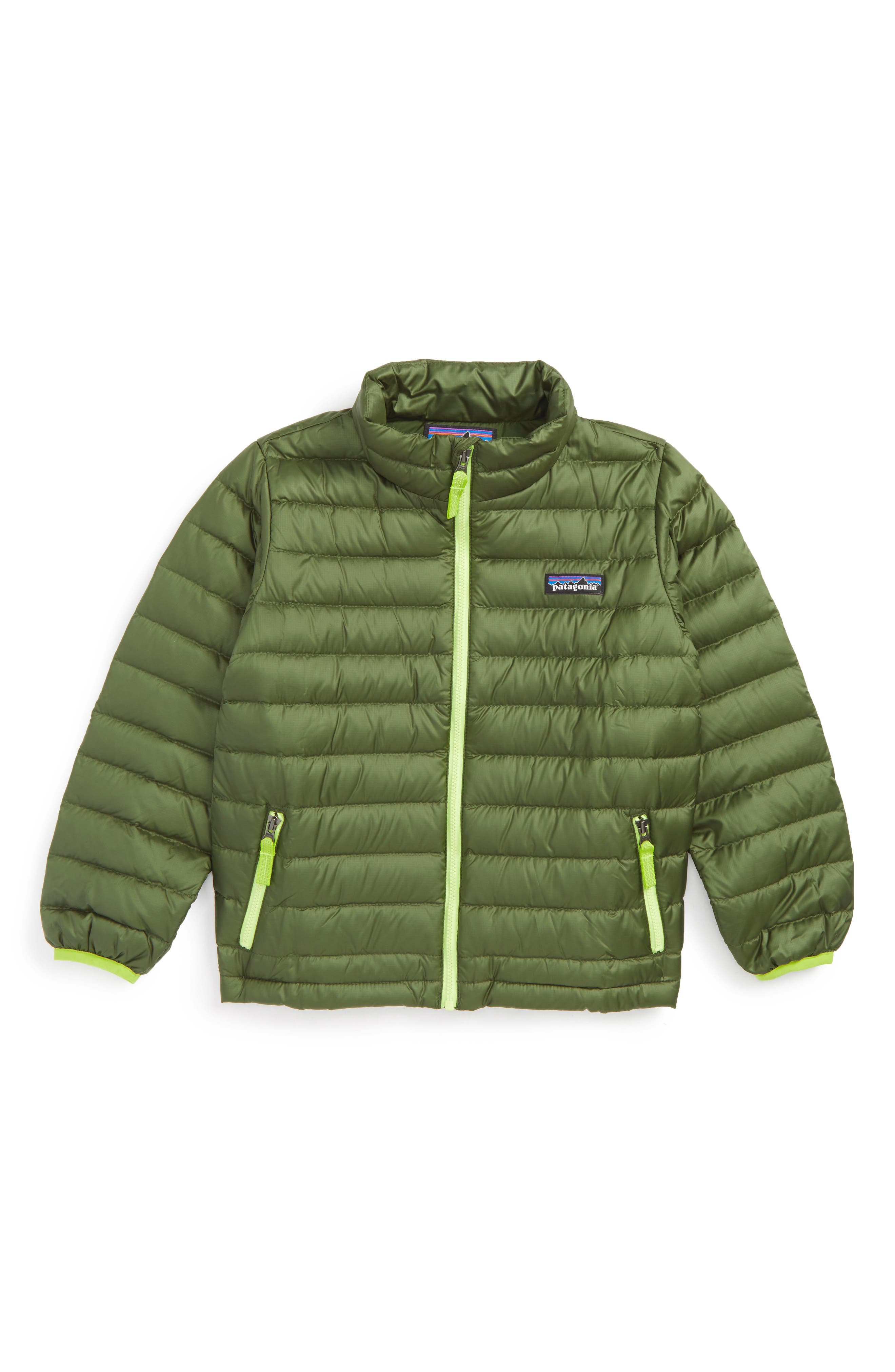Patagonia Water Repellent 600-Fill Power Down Sweater Jacket (Little Boys & Big Boys)