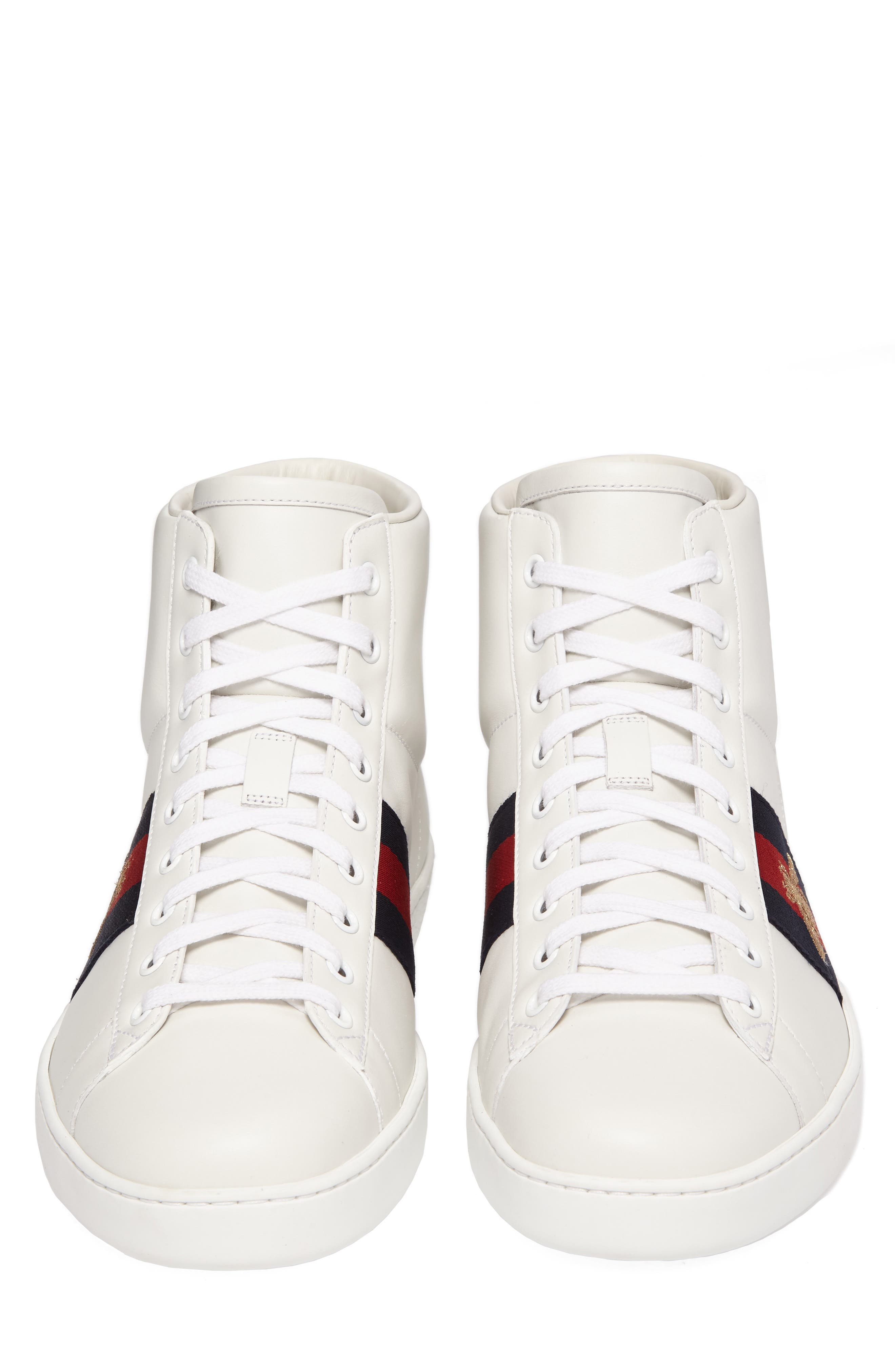 Alternate Image 4  - Gucci New Ace High Bee Sneaker (Men)