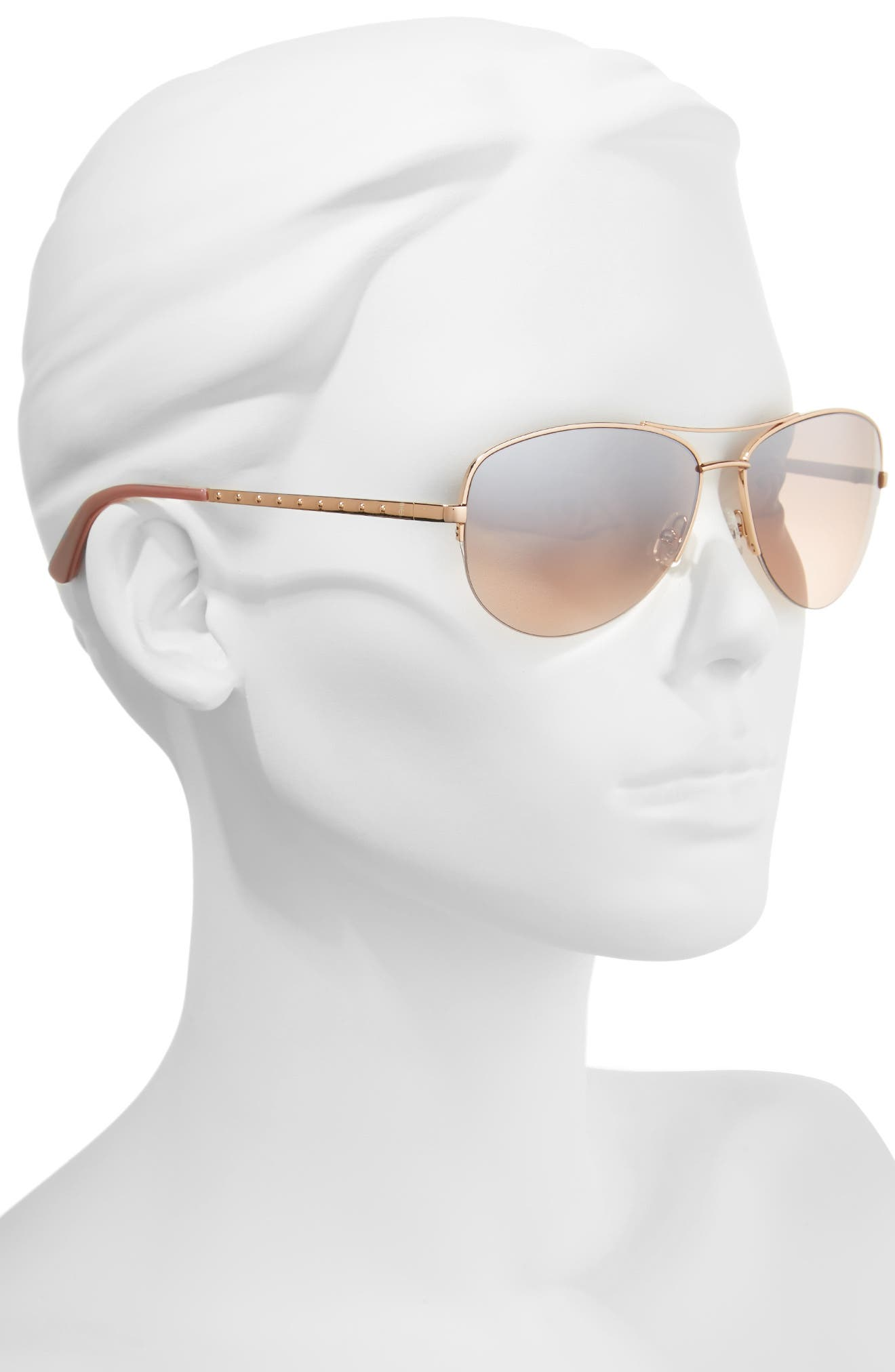 Alternate Image 2  - Juicy Couture Black Label 60mm Gradient Aviator Sunglasses