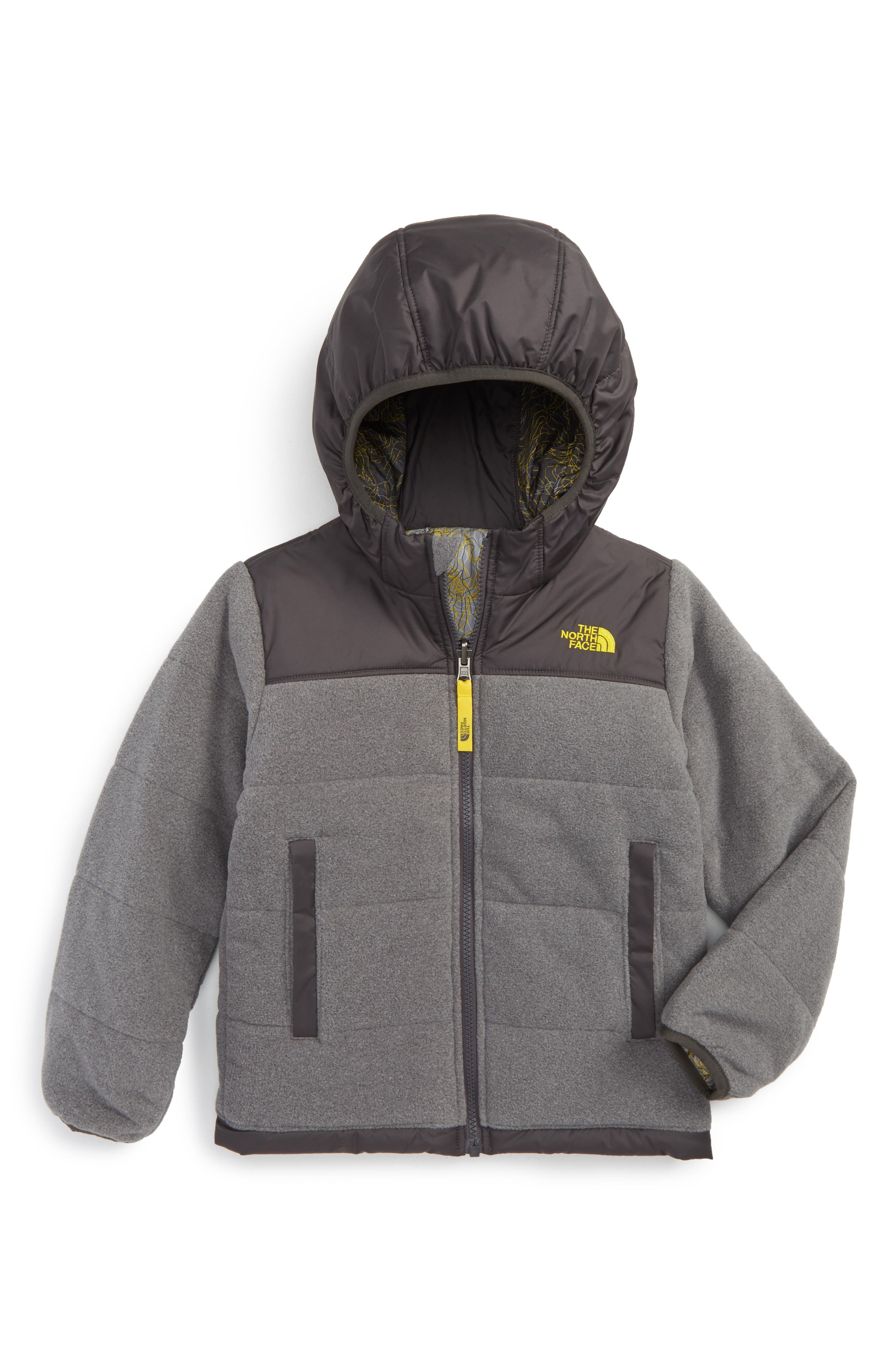 True or False Reversible Jacket,                         Main,                         color, Tnf Medium Grey Heather
