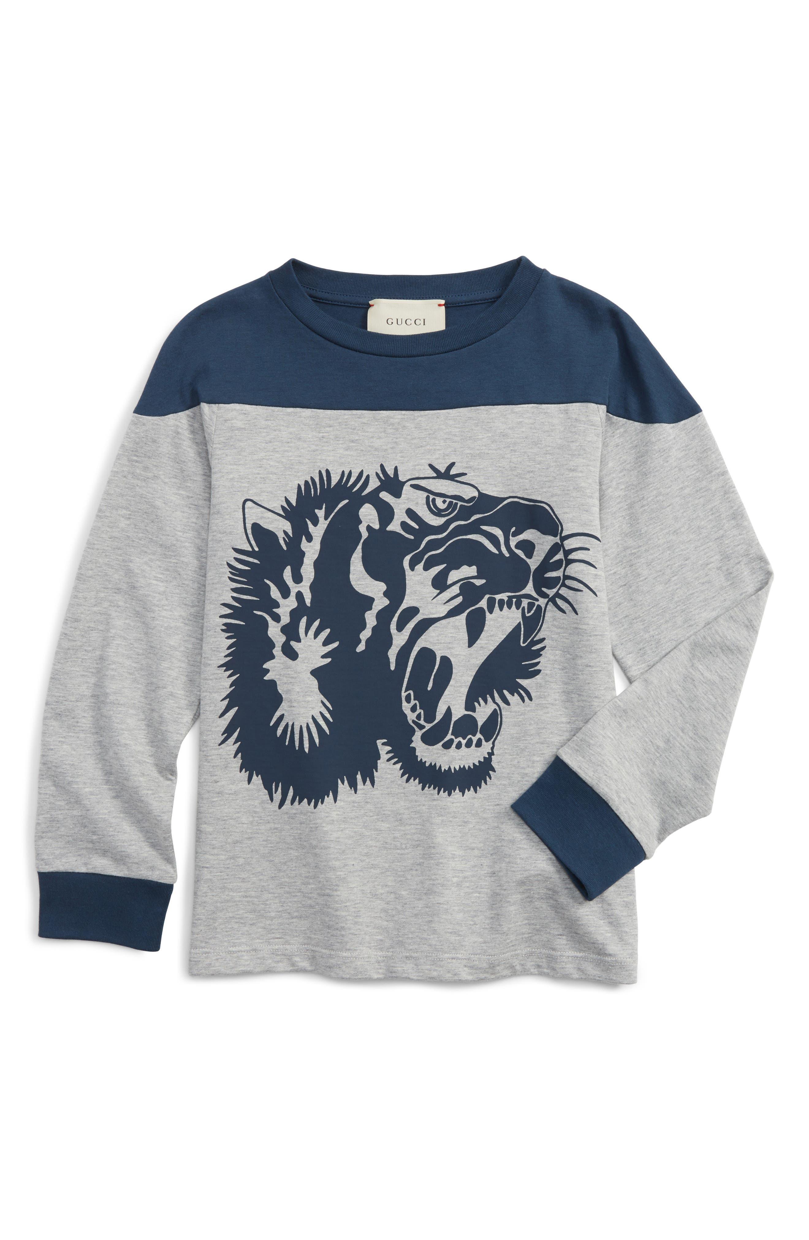 Main Image - Gucci L'Aveugle Par Amour Graphic Sweatshirt (Little Boys & Big Boys)